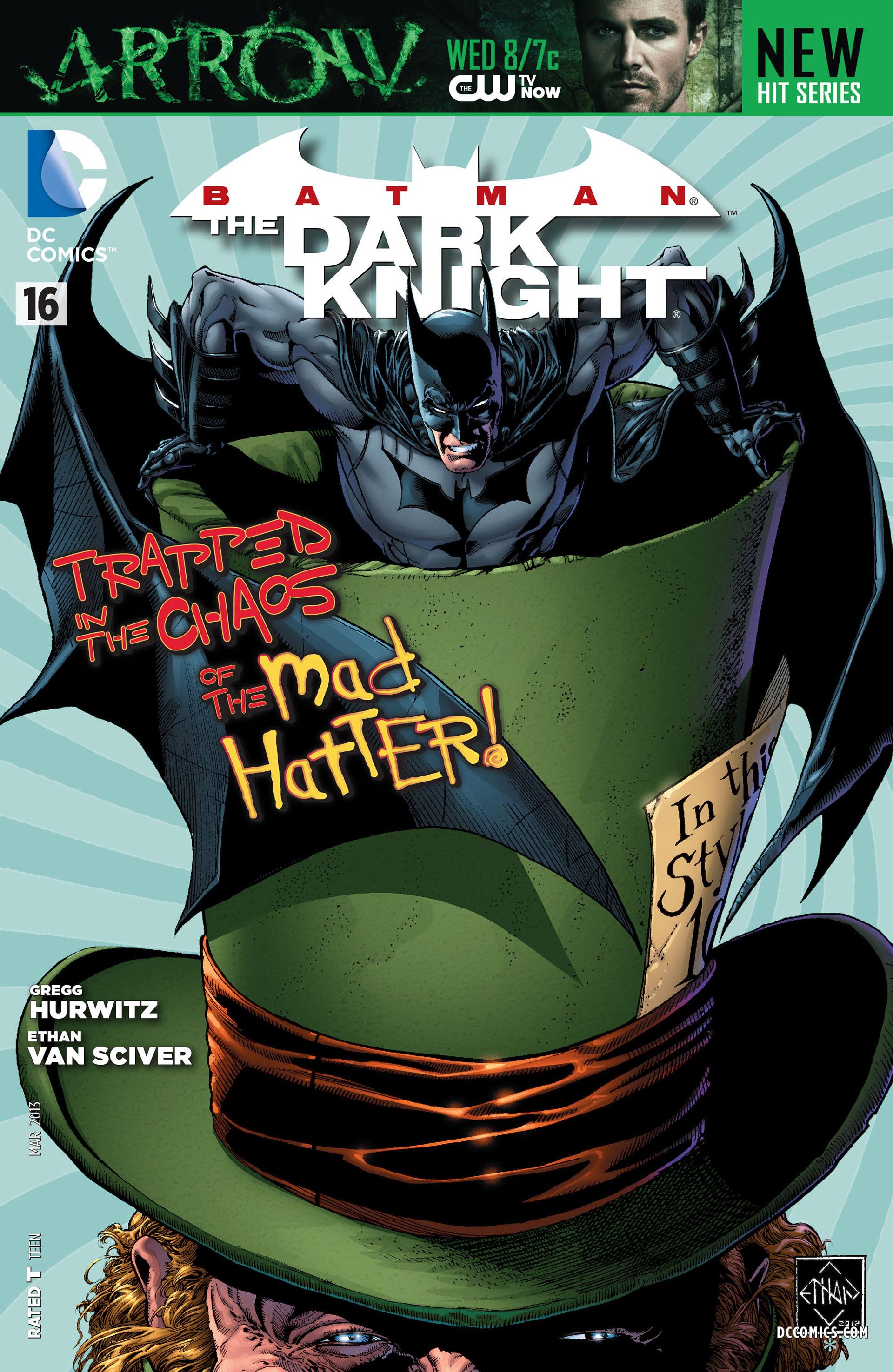 Batman: The Dark Knight [II] (2011) 16 Page 1