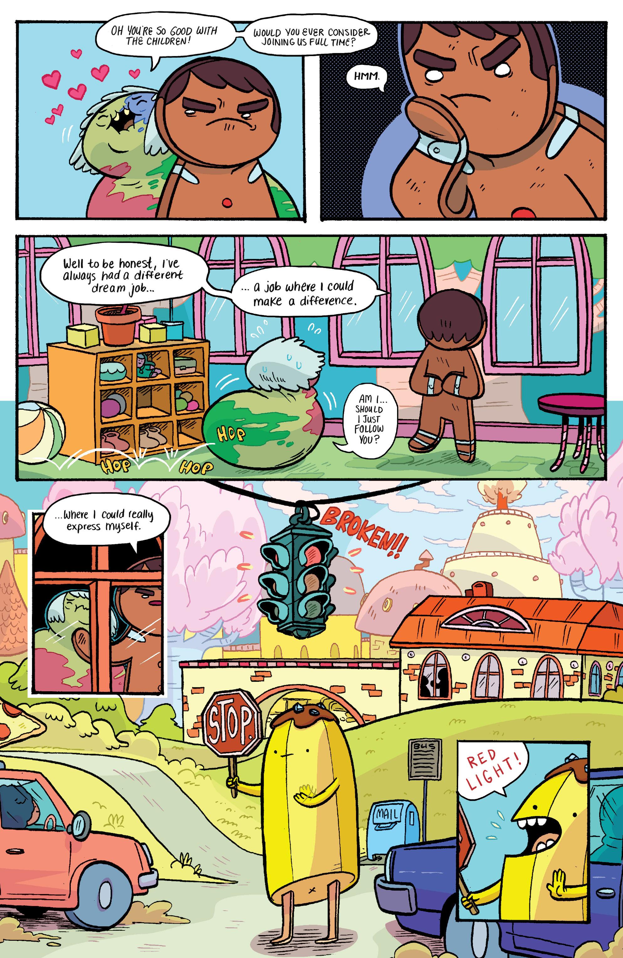 Read online Adventure Time: Banana Guard Academ comic -  Issue #1 - 17