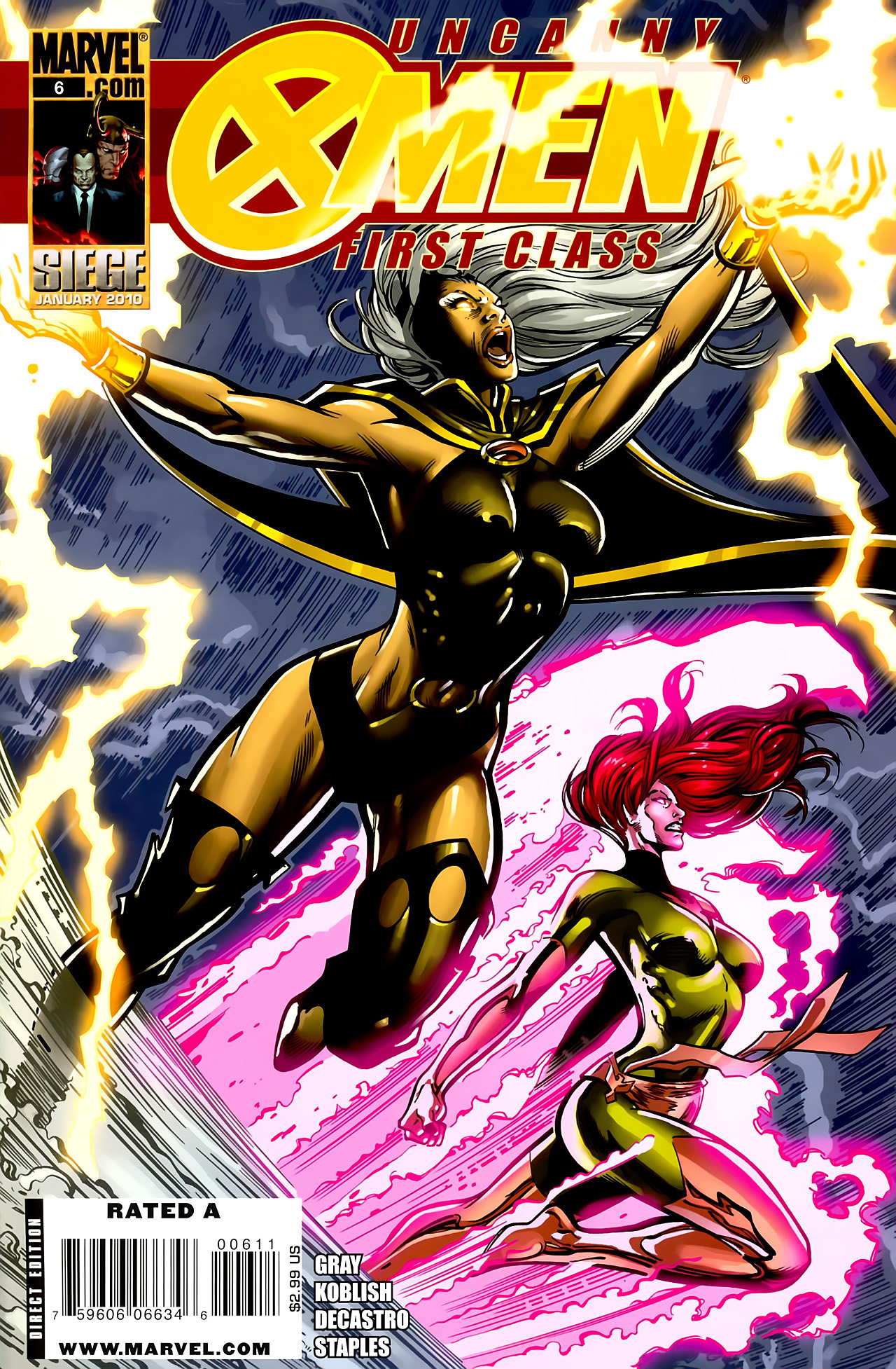 Read online Uncanny X-Men: First Class comic -  Issue #6 - 1