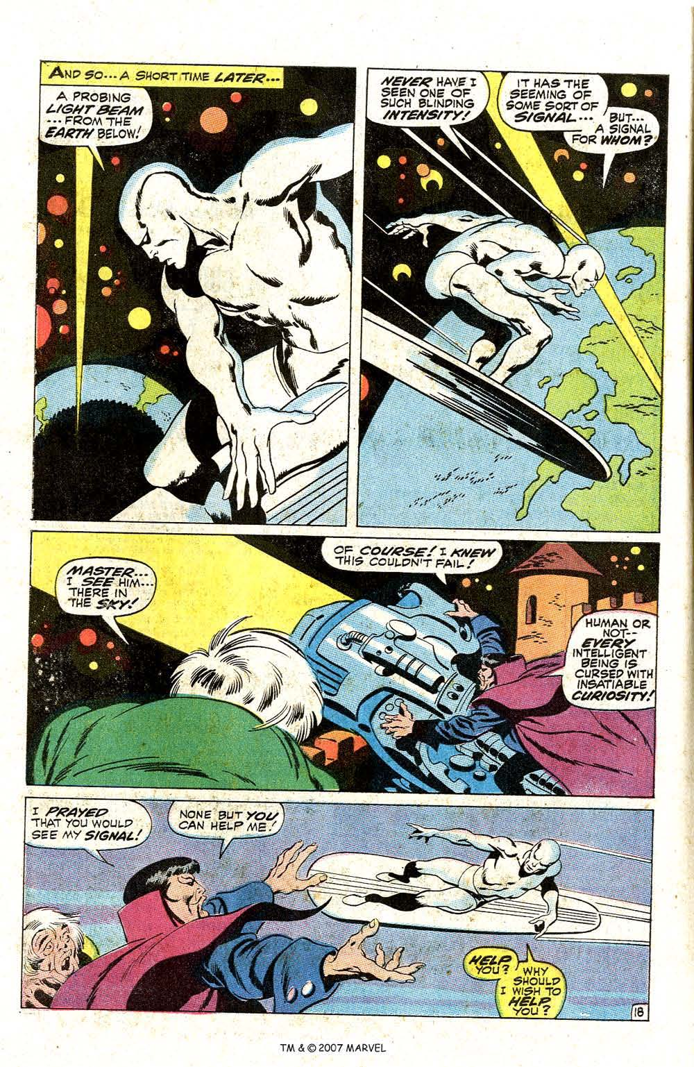 Read online Silver Surfer (1968) comic -  Issue #7 - 24