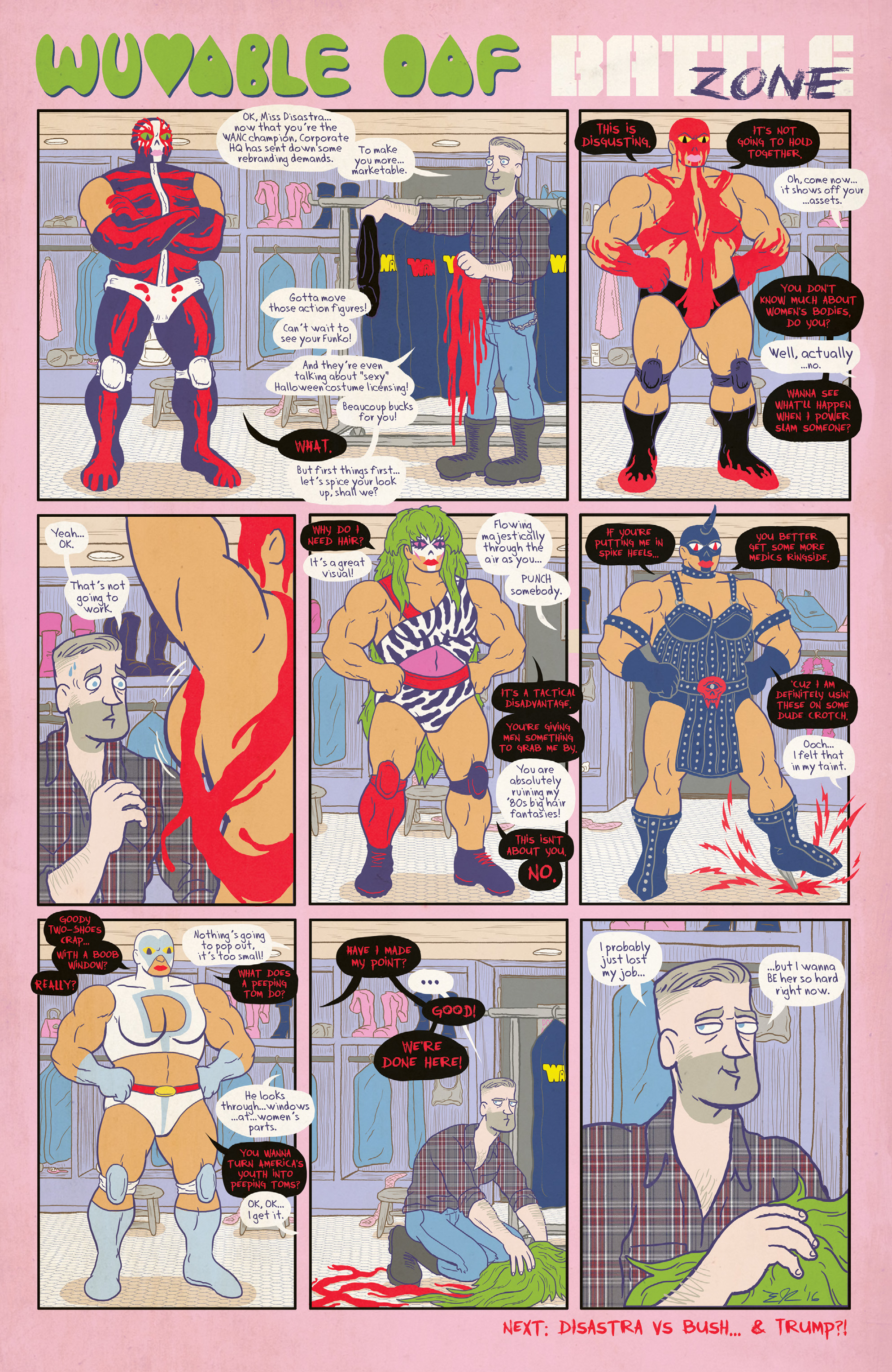Read online Free Comic Book Day 2017 comic -  Issue # World's Greatest Cartoonists - 42