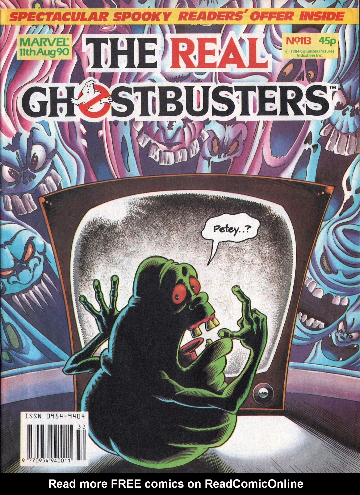 The Real Ghostbusters 113 Page 1