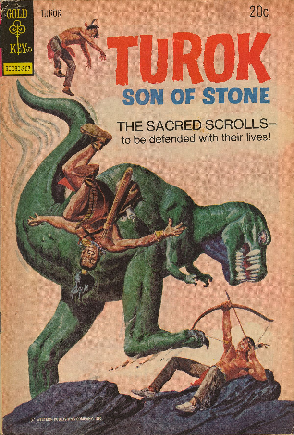 Read online Turok, Son of Stone comic -  Issue #85 - 1