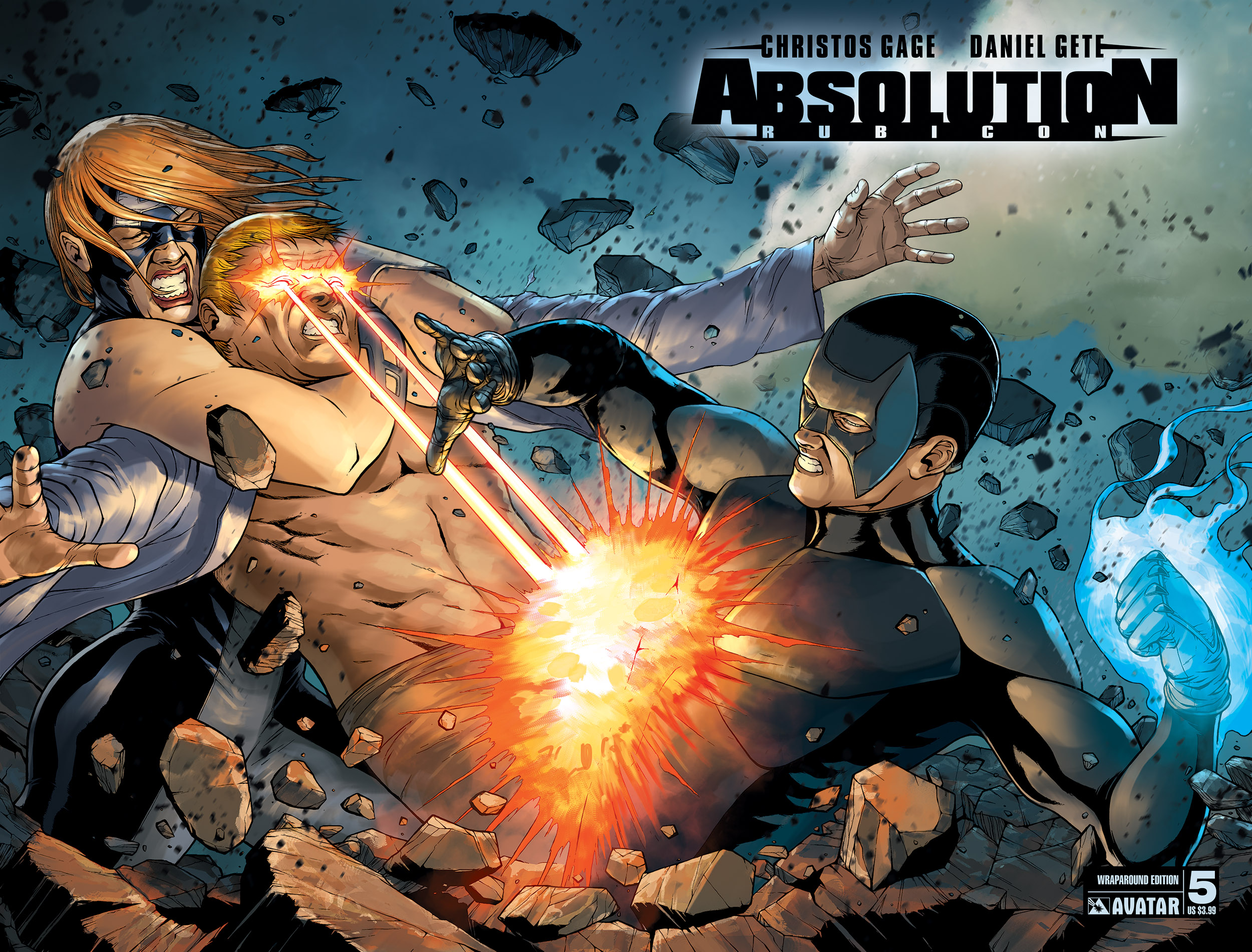 Read online Absolution: Rubicon comic -  Issue #5 - 5