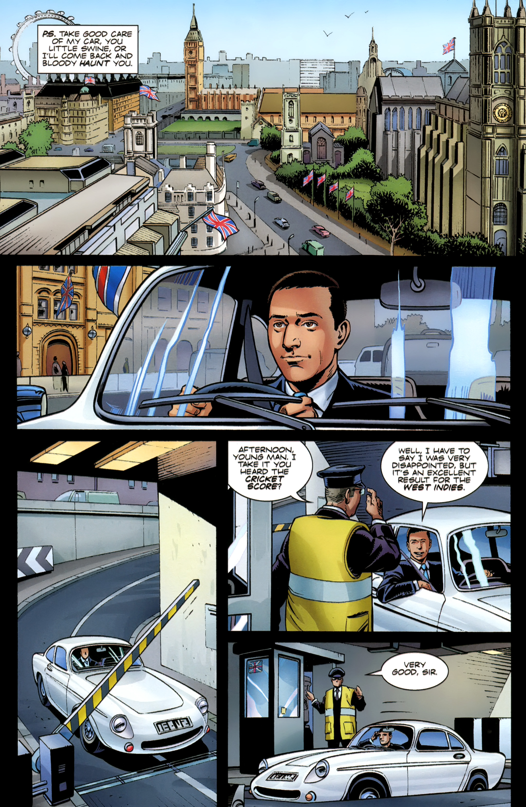 Read online Secret Service comic -  Issue #6 - 33