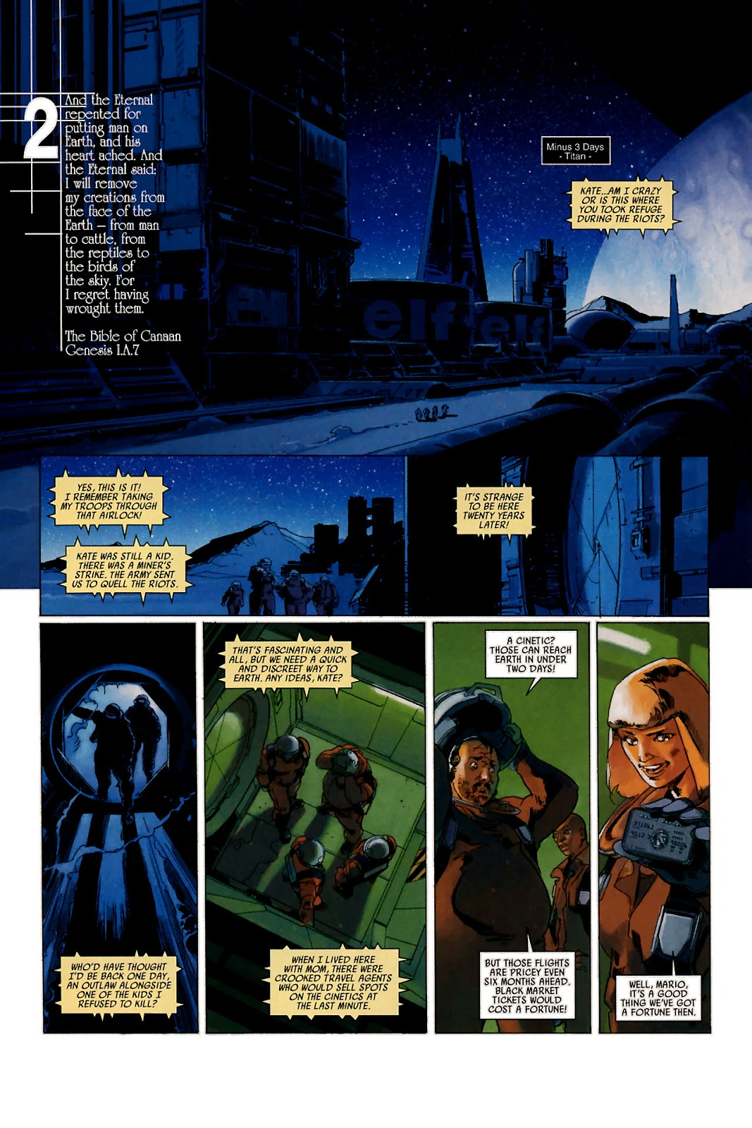Read online Universal War One: Revelations comic -  Issue #1 - 13