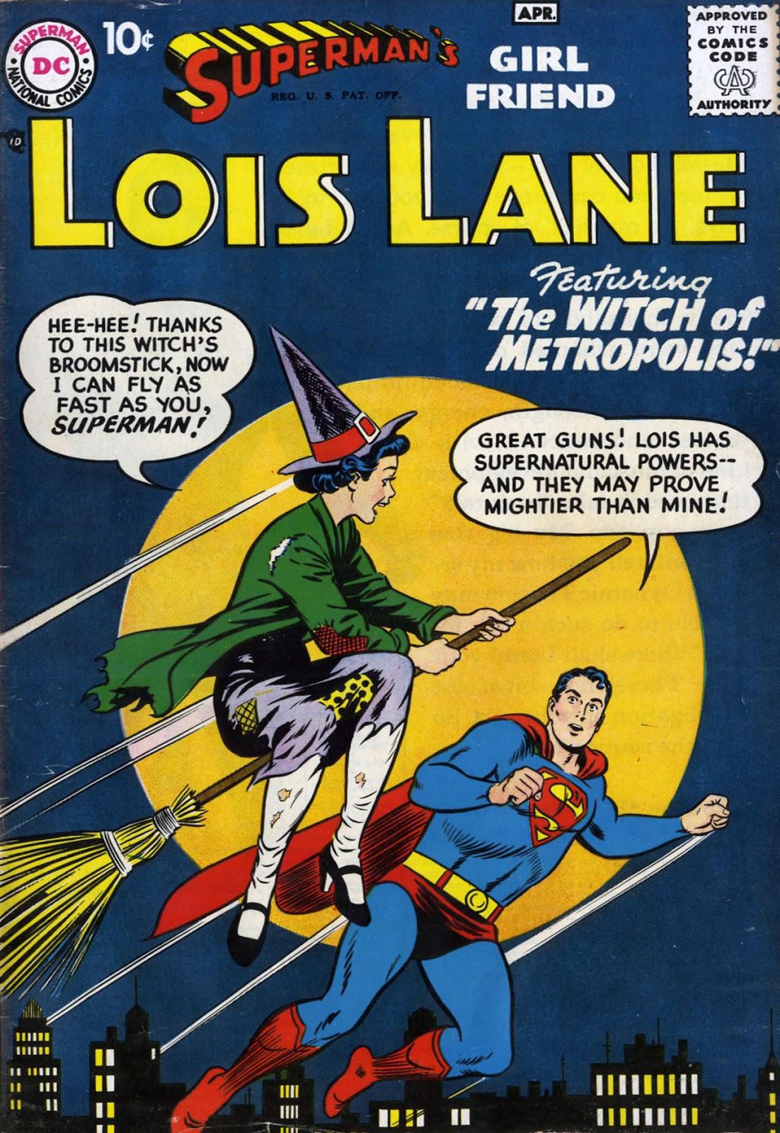 Supermans Girl Friend, Lois Lane 1 Page 1