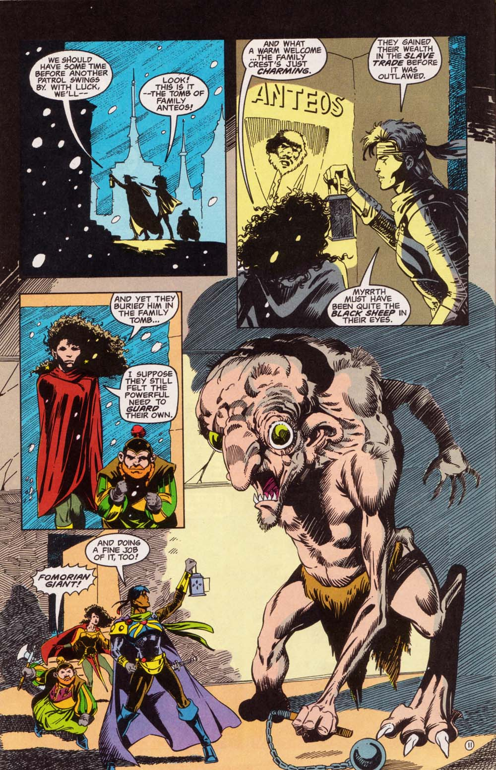Read online Advanced Dungeons & Dragons comic -  Issue #5 - 12