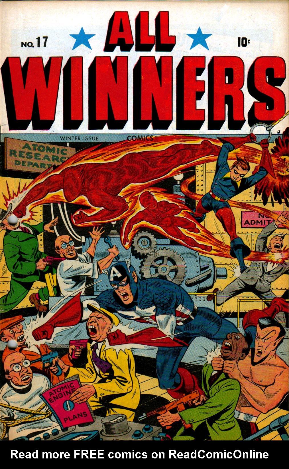 Read online All-Winners Comics comic -  Issue #17 - 1