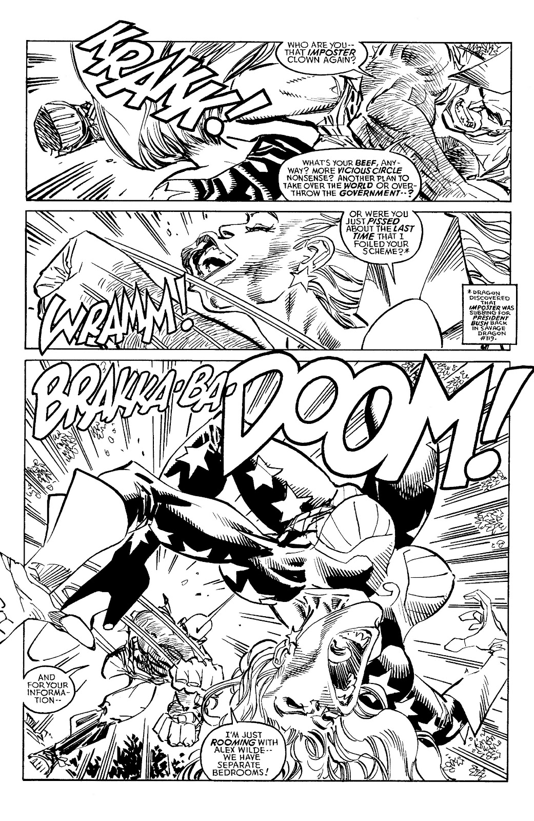 Read online Savage Dragon Archives comic -  Issue # TPB 6 (Part 4) - 42