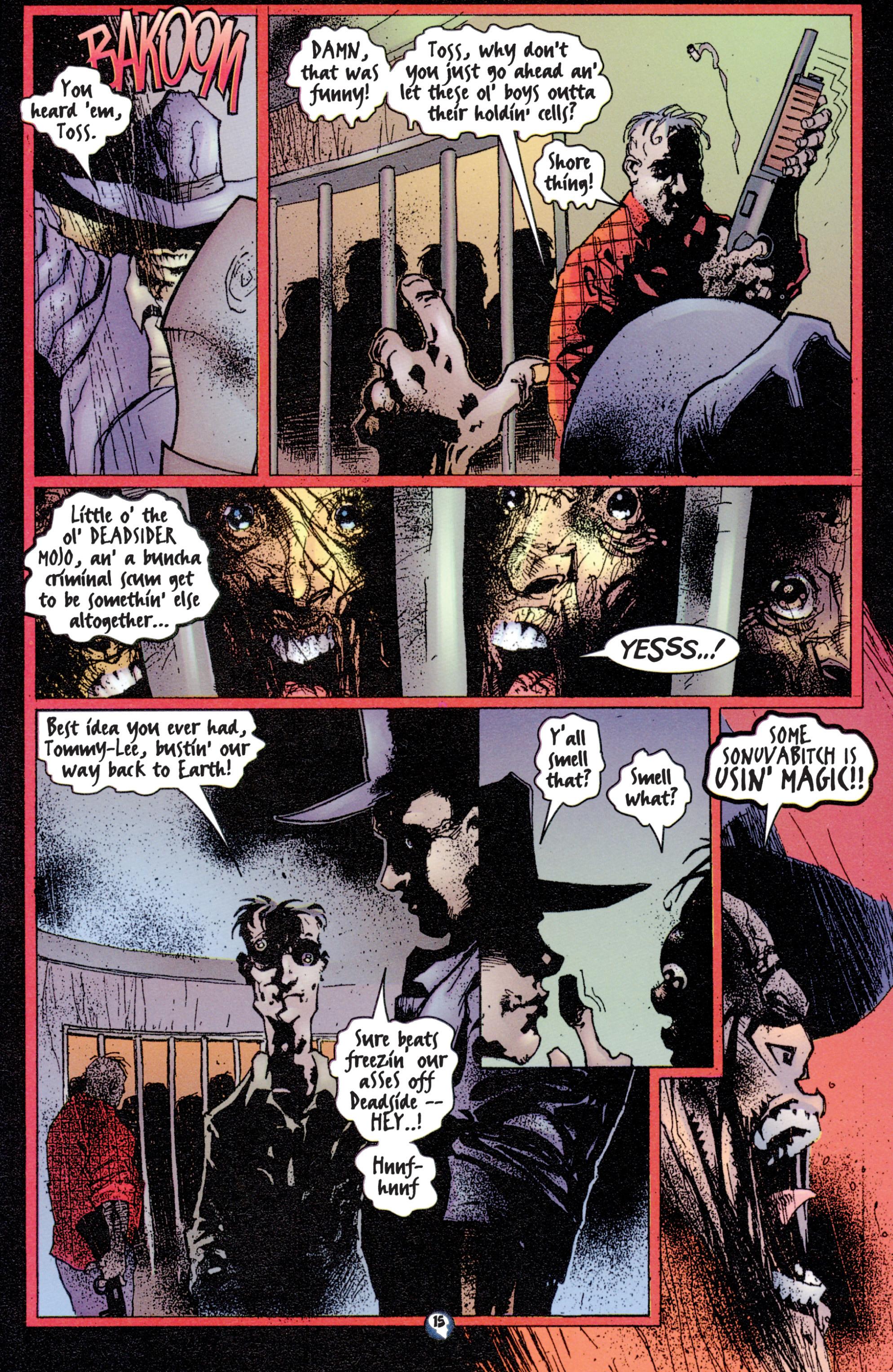 Read online Shadowman (1997) comic -  Issue #2 - 13