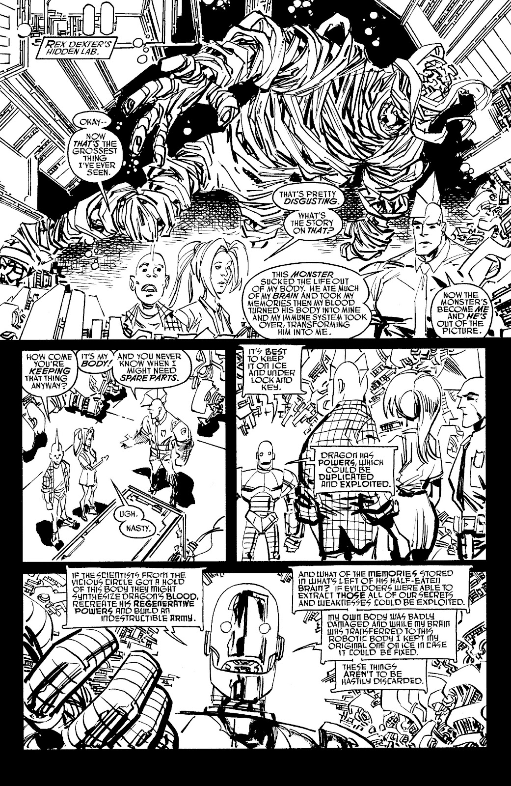 Read online Savage Dragon Archives comic -  Issue # TPB 6 (Part 5) - 96