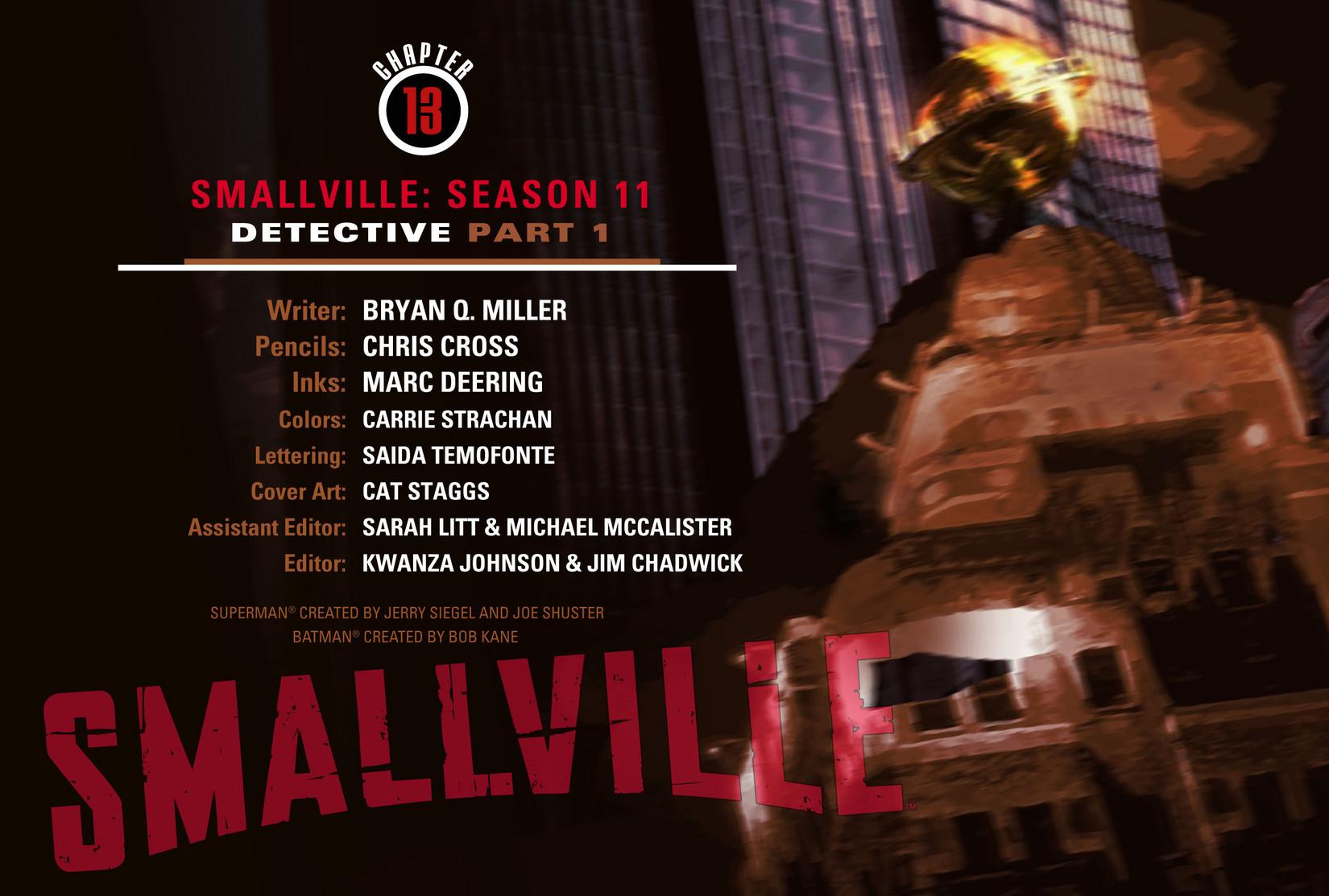Read online Smallville: Season 11 comic -  Issue #13 - 2