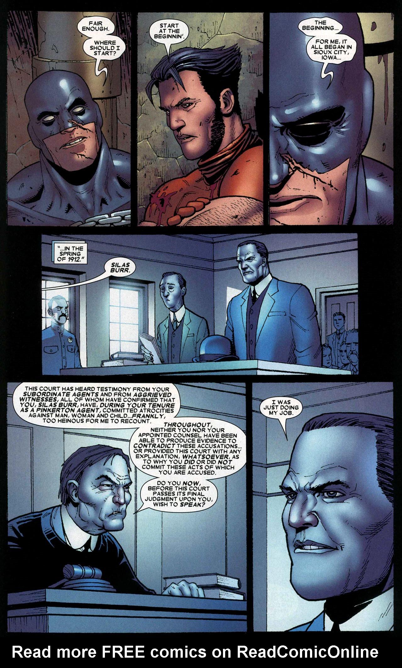 Read online Wolverine: Origins comic -  Issue #14 - 17