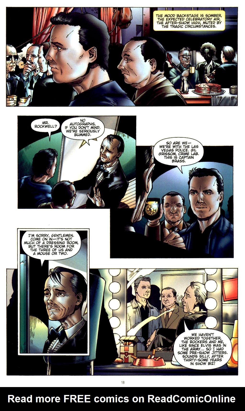 Read online CSI: Crime Scene Investigation: Bad Rap comic -  Issue #2 - 19