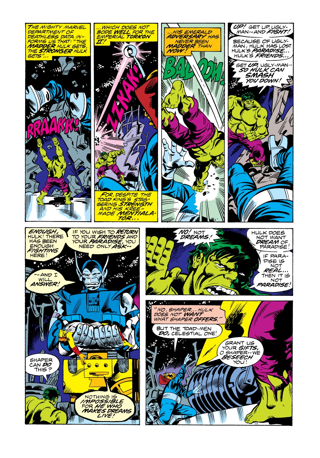 Read online Marvel Masterworks: The Incredible Hulk comic -  Issue # TPB 11 (Part 2) - 56