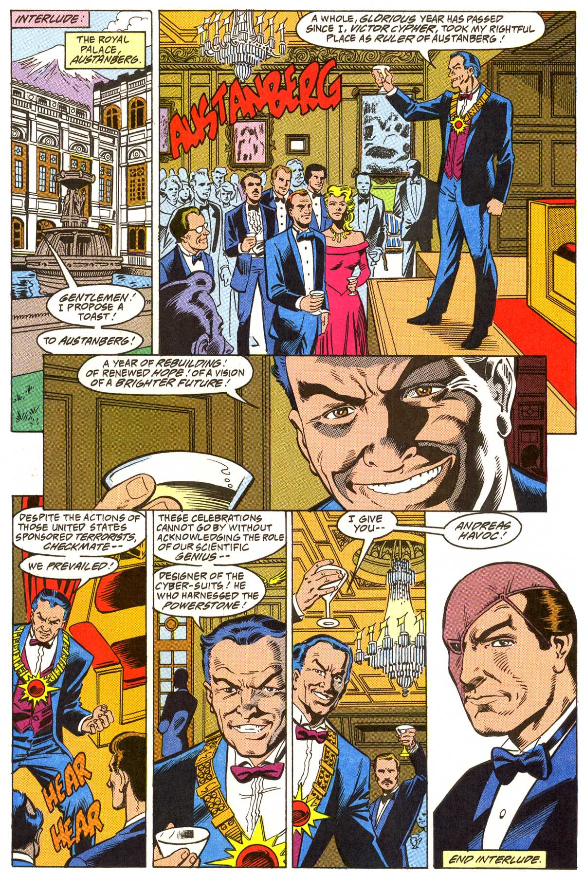 Read online Peter Cannon--Thunderbolt (1992) comic -  Issue #3 - 10