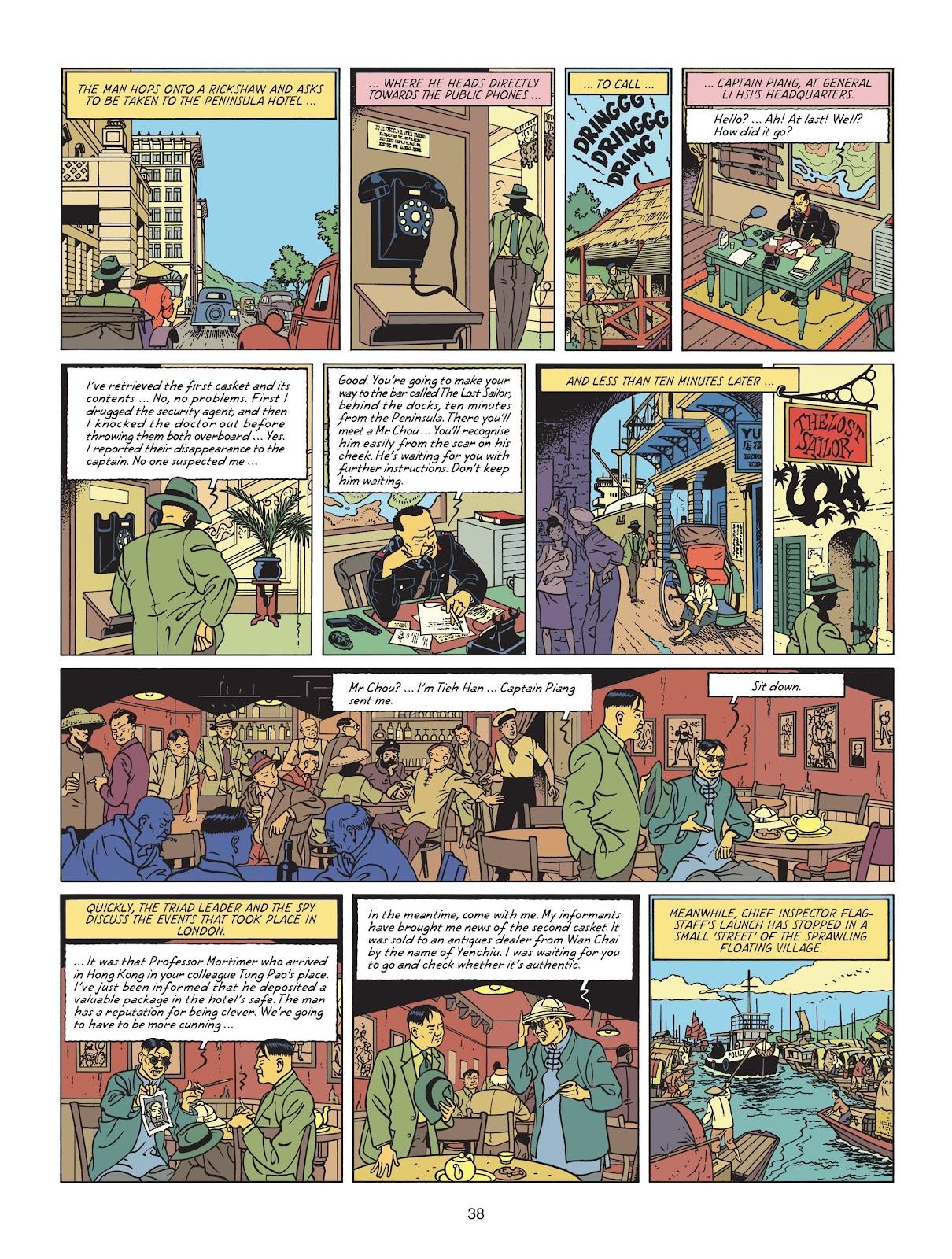 Read online Blake & Mortimer comic -  Issue #25 - 40