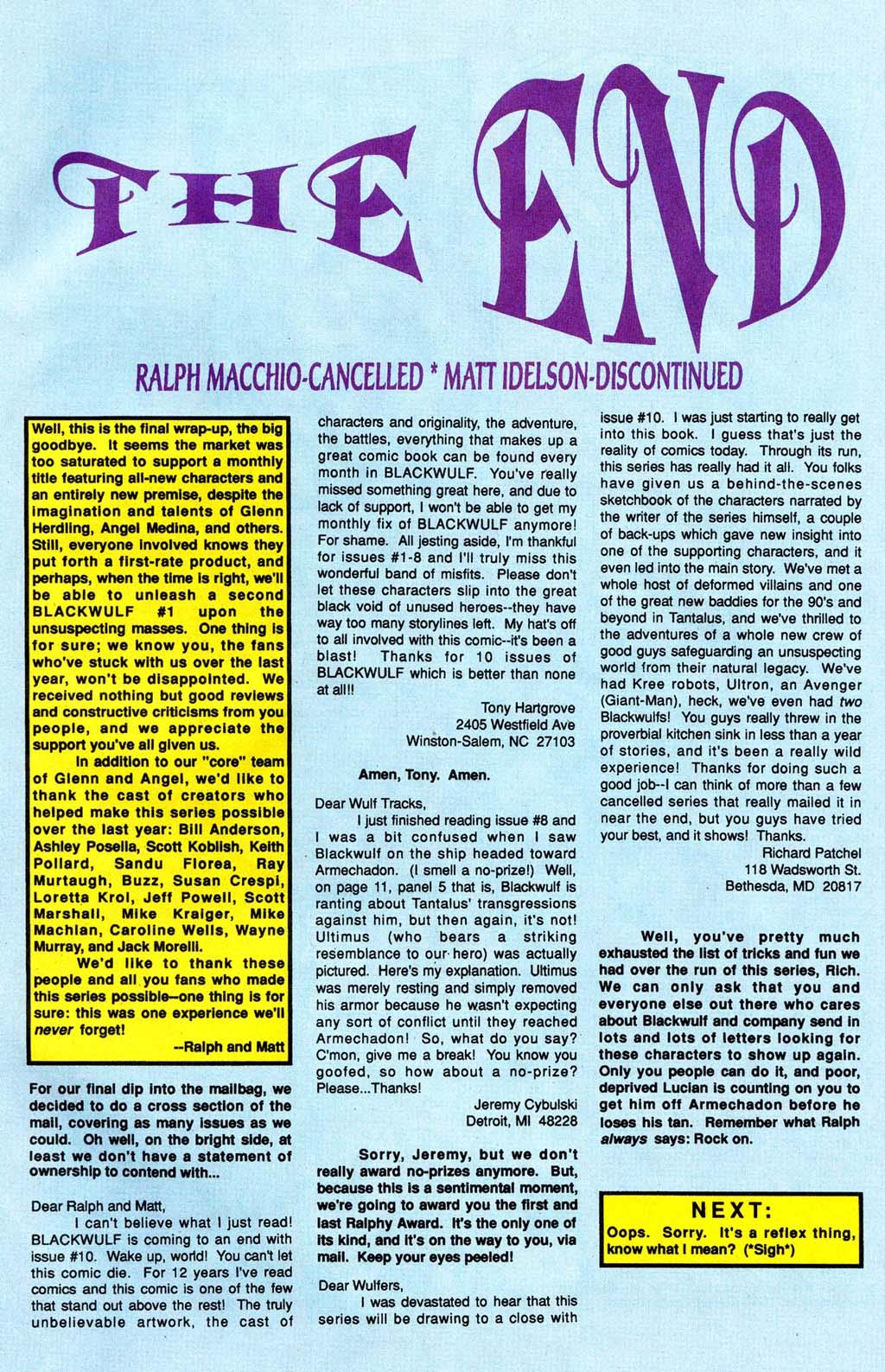 Read online Blackwulf comic -  Issue #10 - 23