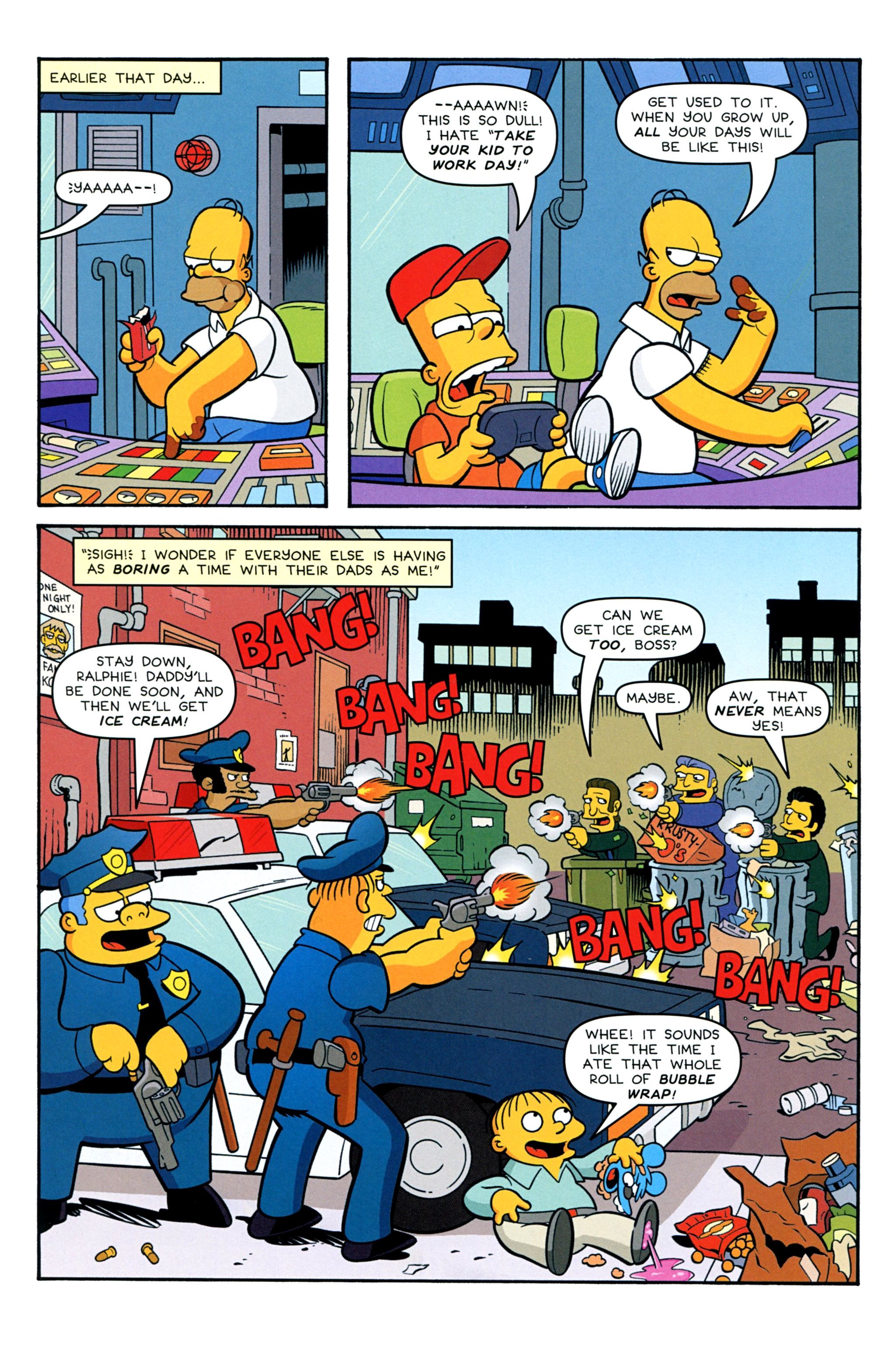 Read online Treehouse of Horror comic -  Issue #20 - 34