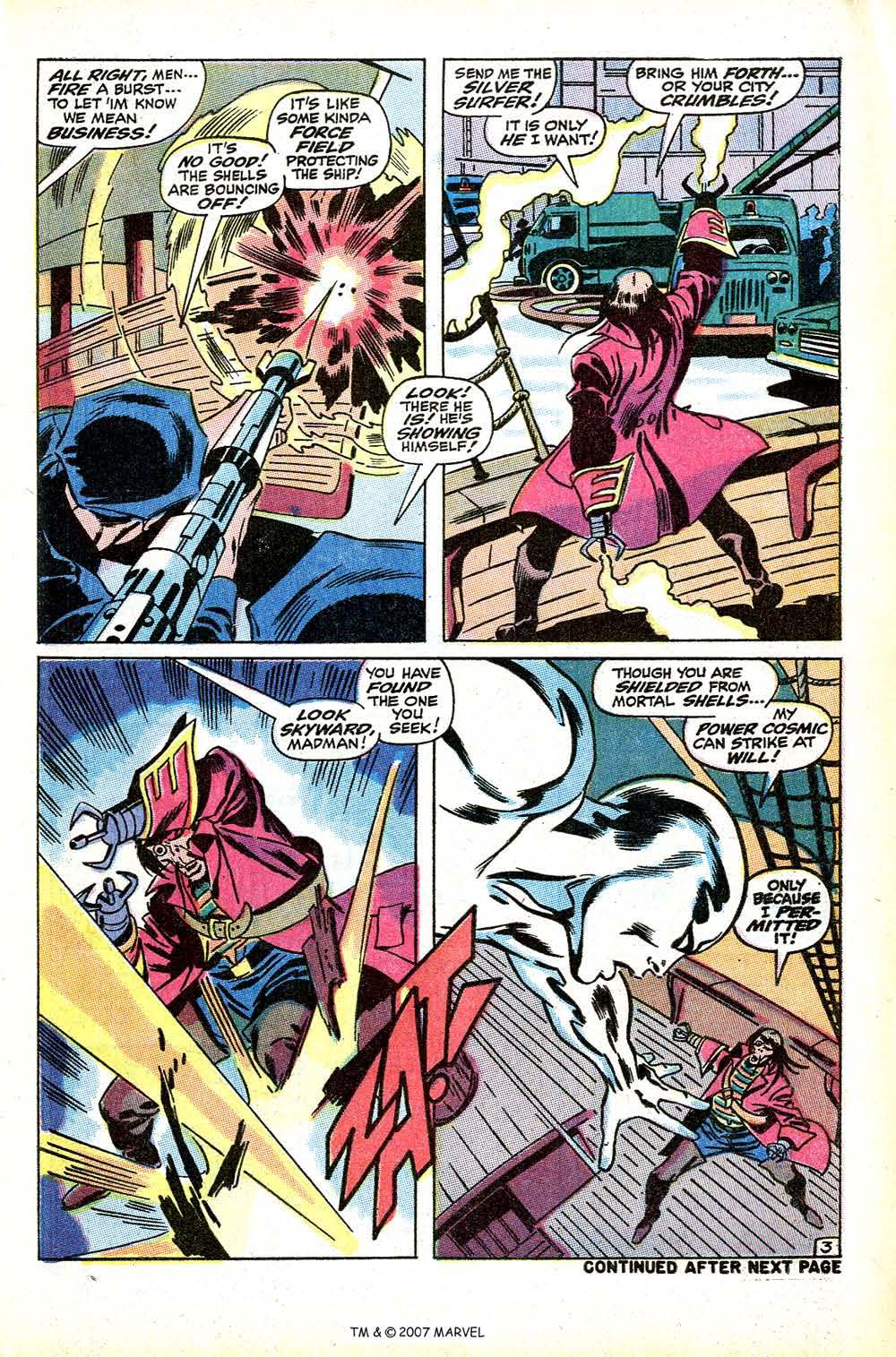 Silver Surfer (1968) Issue #9 #9 - English 5