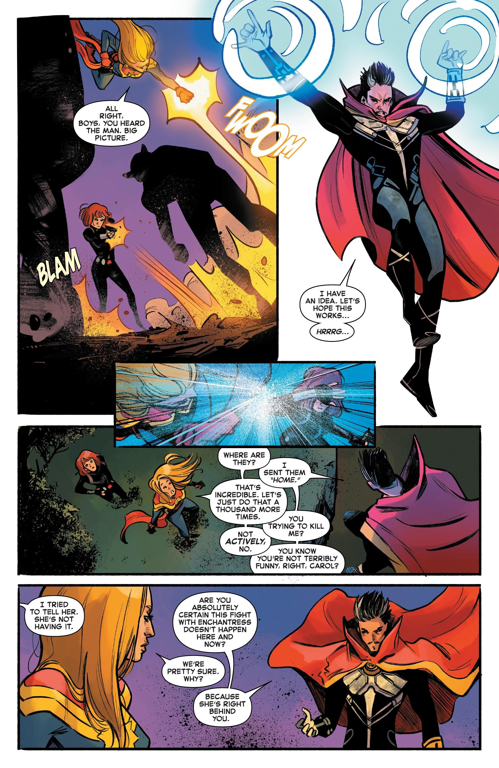 Read online Captain Marvel (2019) comic -  Issue #6 - 12