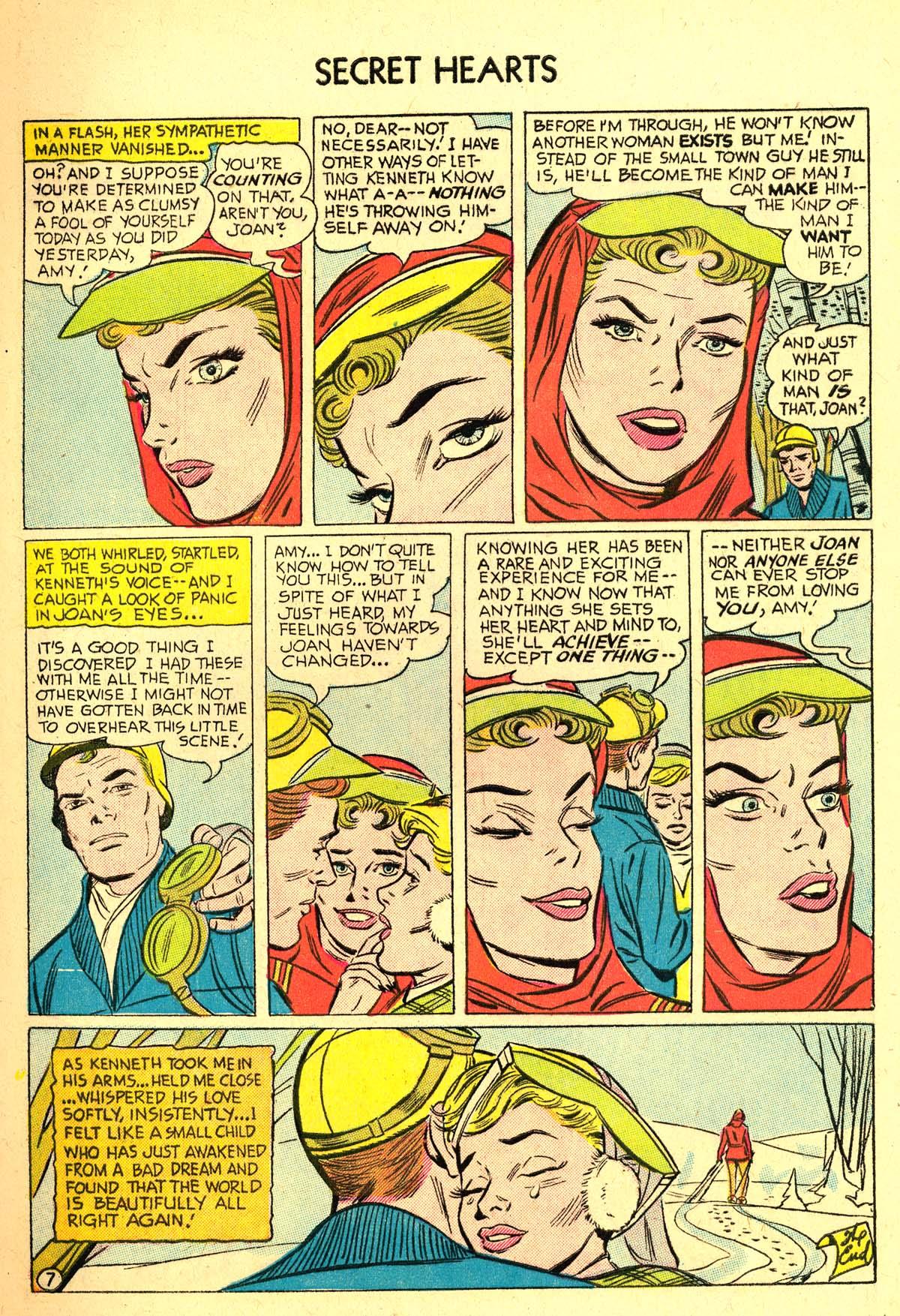 Read online Secret Hearts comic -  Issue #37 - 9