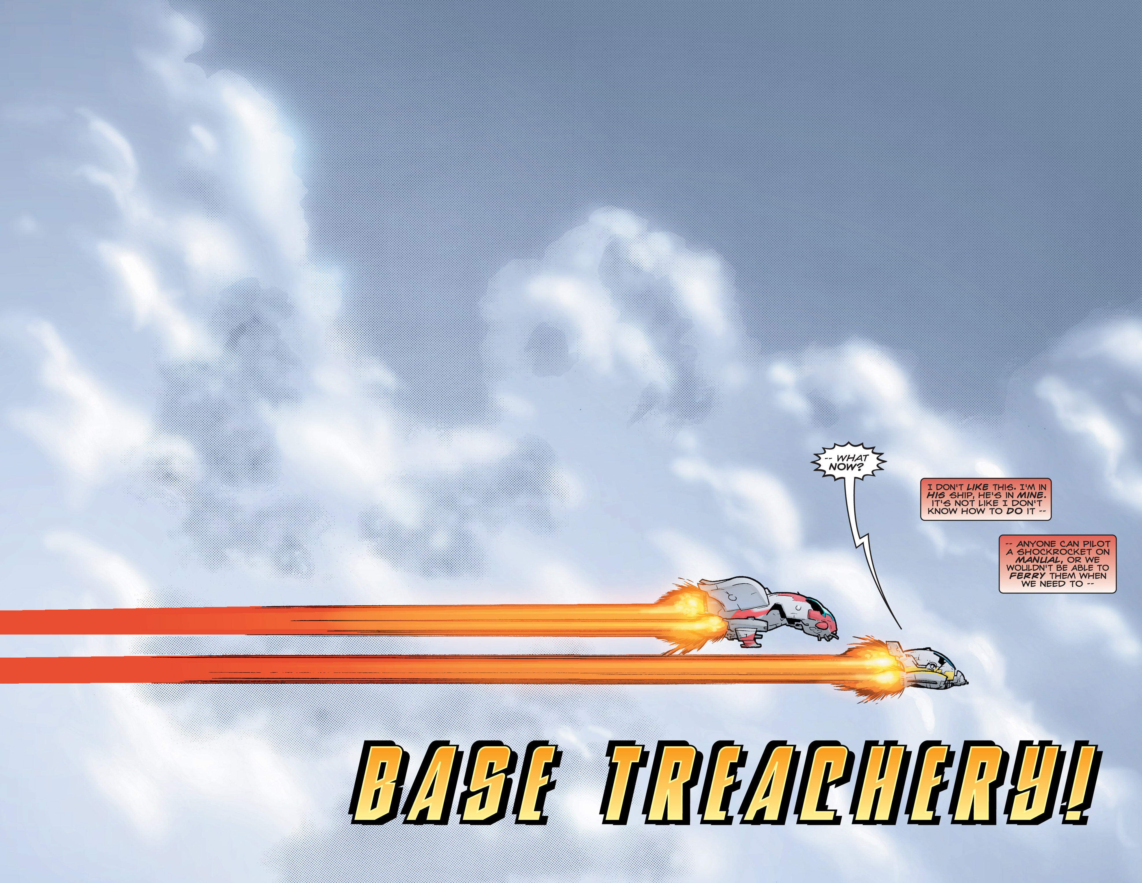 Read online Shockrockets comic -  Issue # TPB - 104