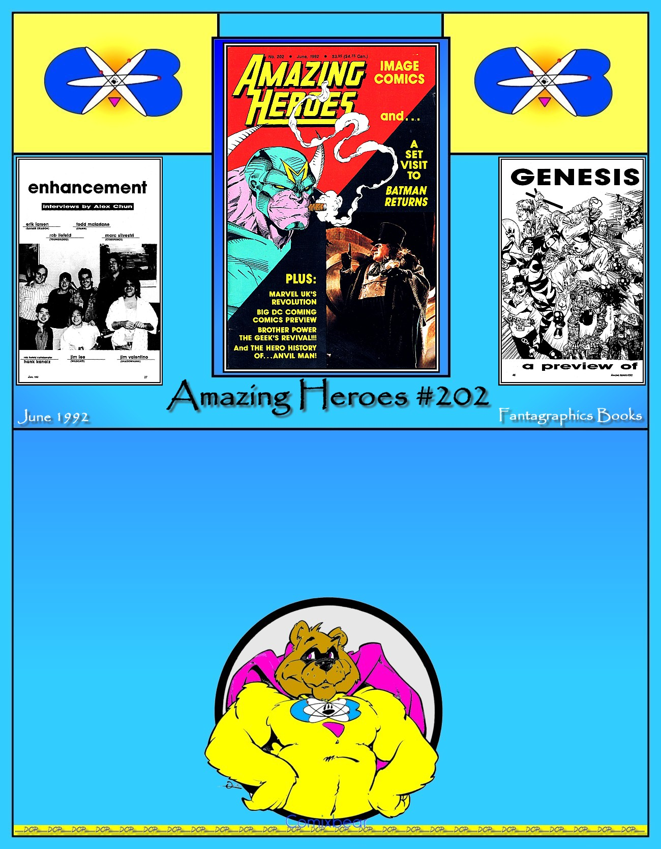 Read online Amazing Heroes comic -  Issue #202 - 99