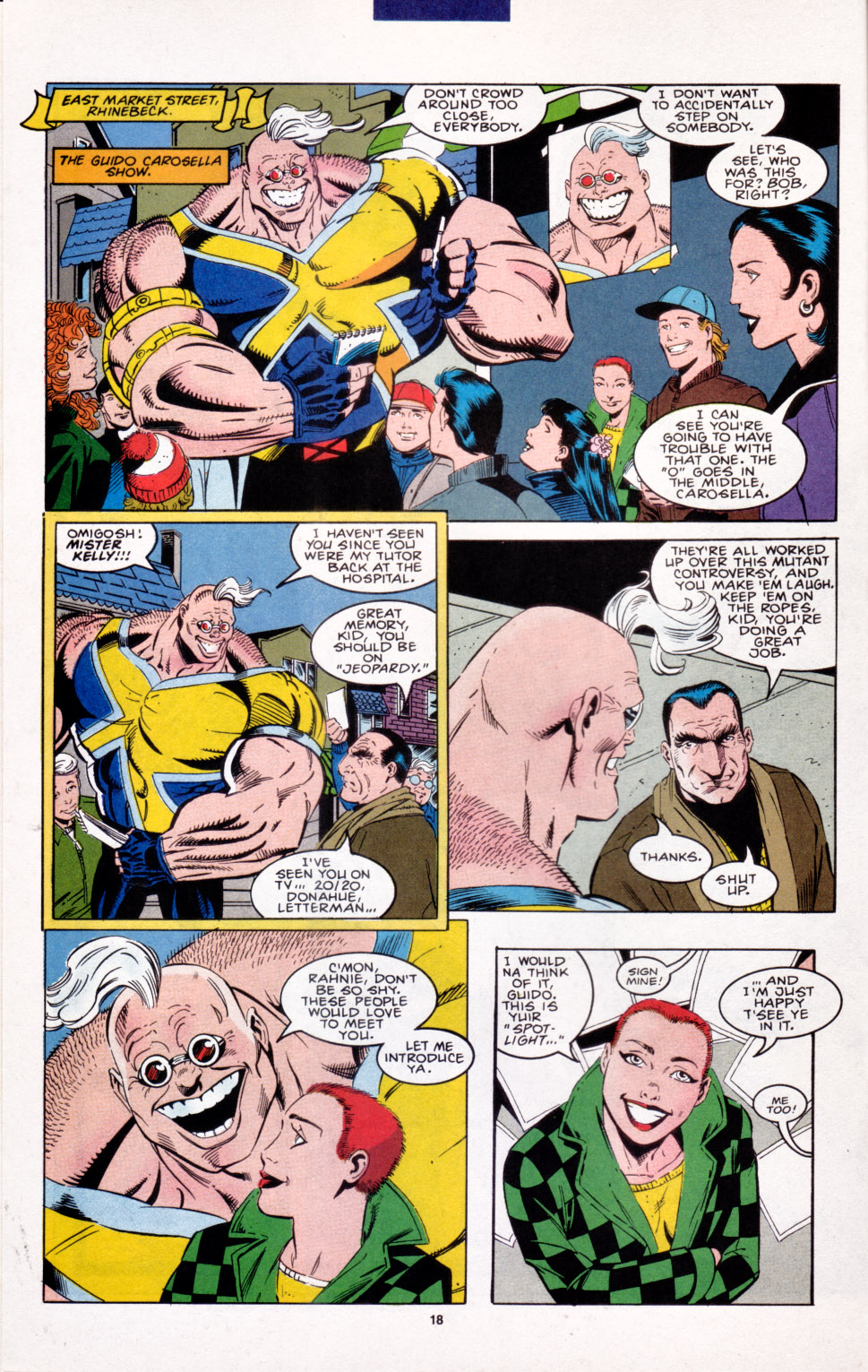 Read online X-Factor (1986) comic -  Issue #103 - 13