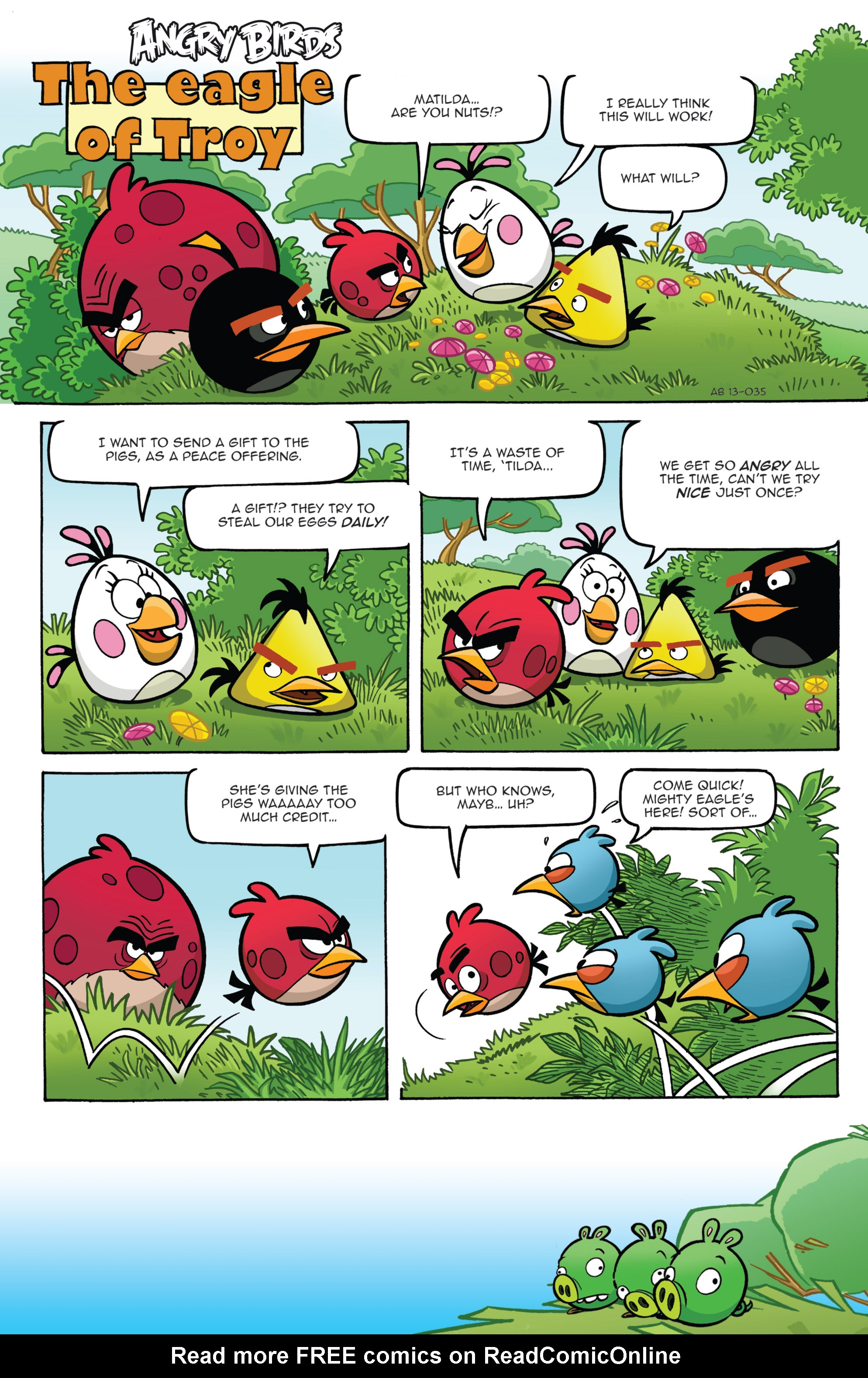 Read online Angry Birds Comics (2014) comic -  Issue #2 - 7
