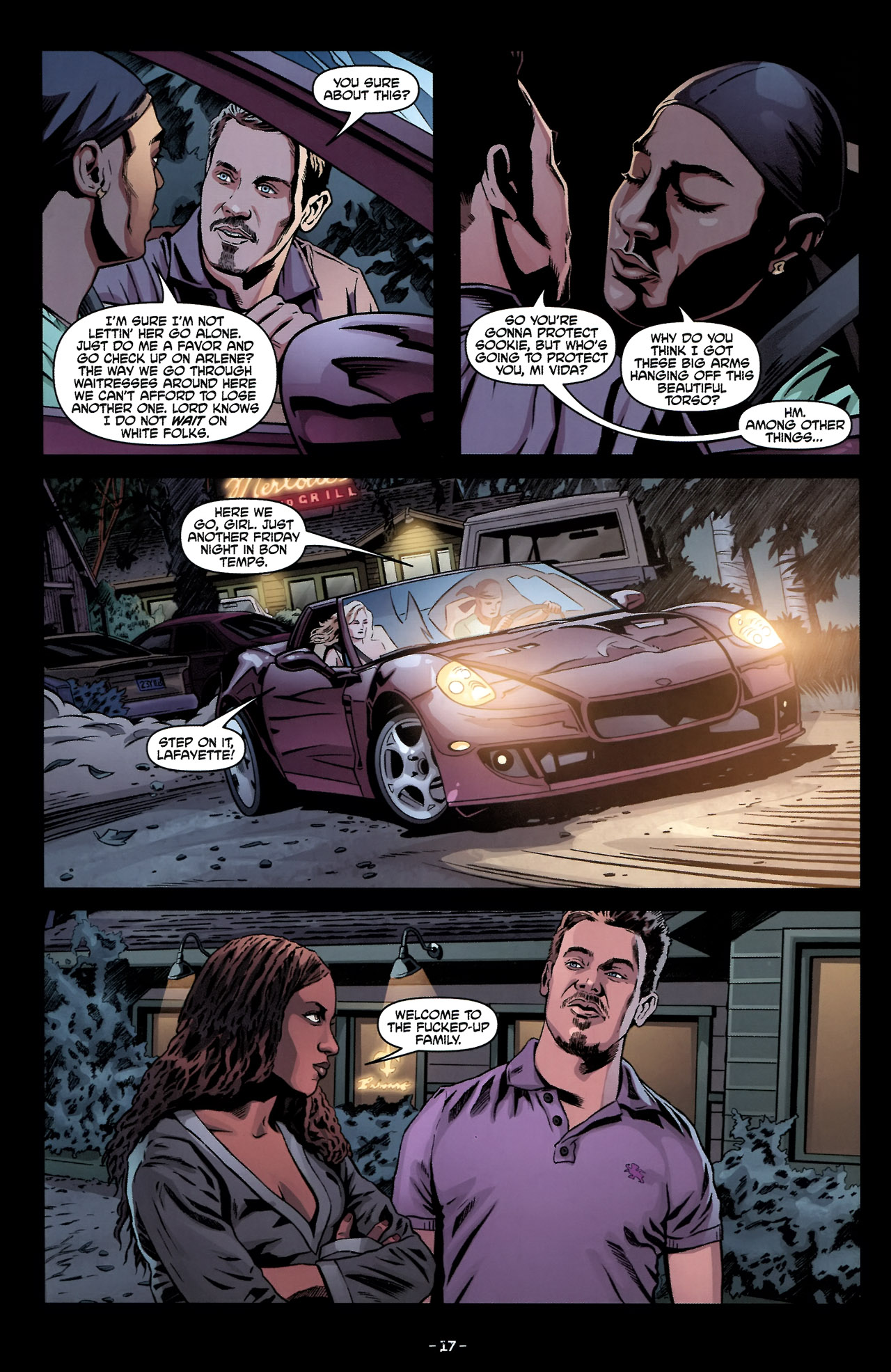 Read online True Blood: Tainted Love comic -  Issue #2 - 21