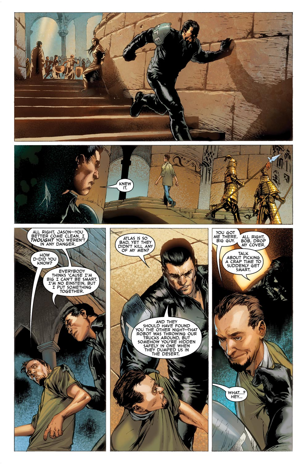 Read online Agents Of Atlas (2009) comic -  Issue #1 - 18