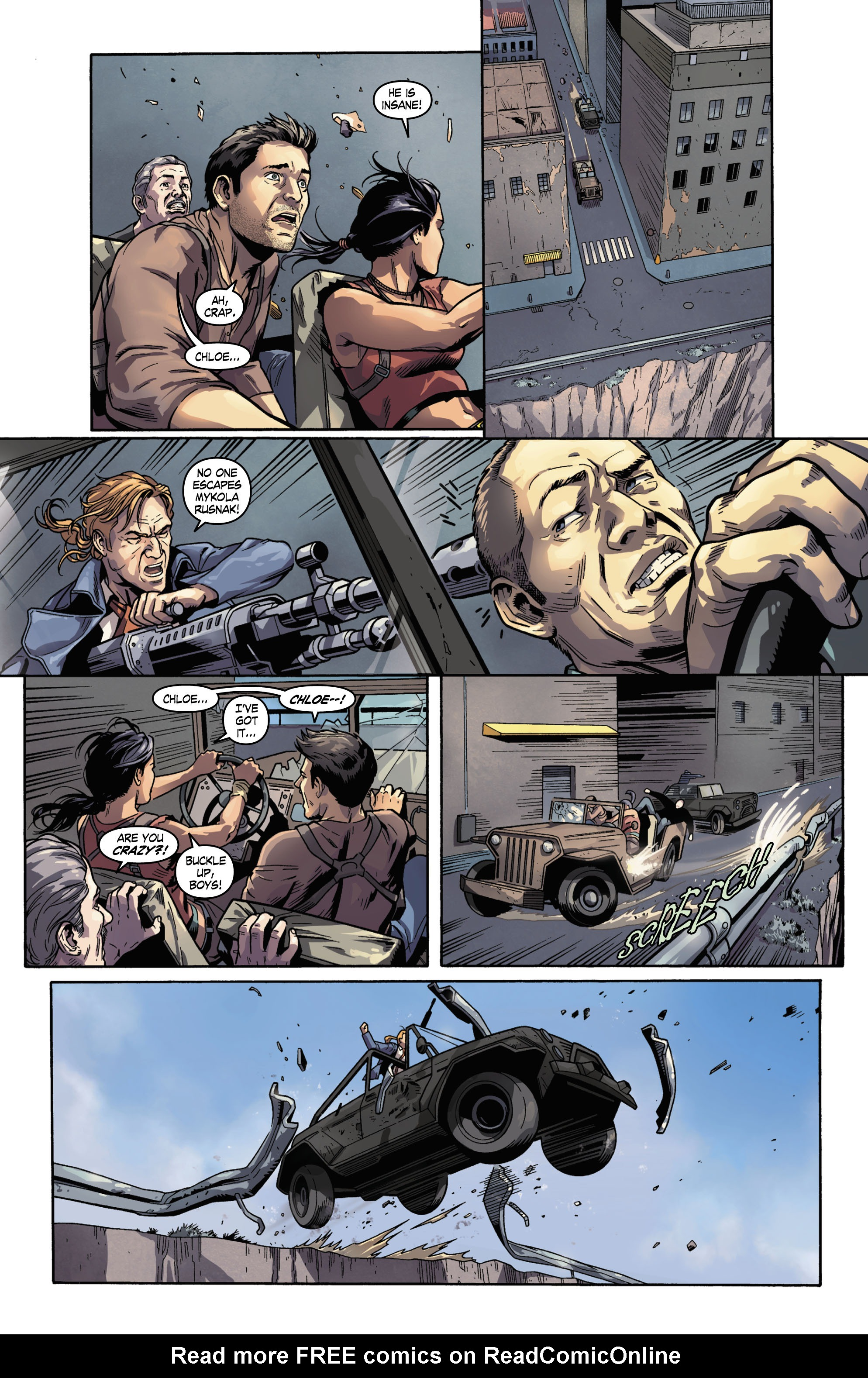 Read online Uncharted comic -  Issue #3 - 9
