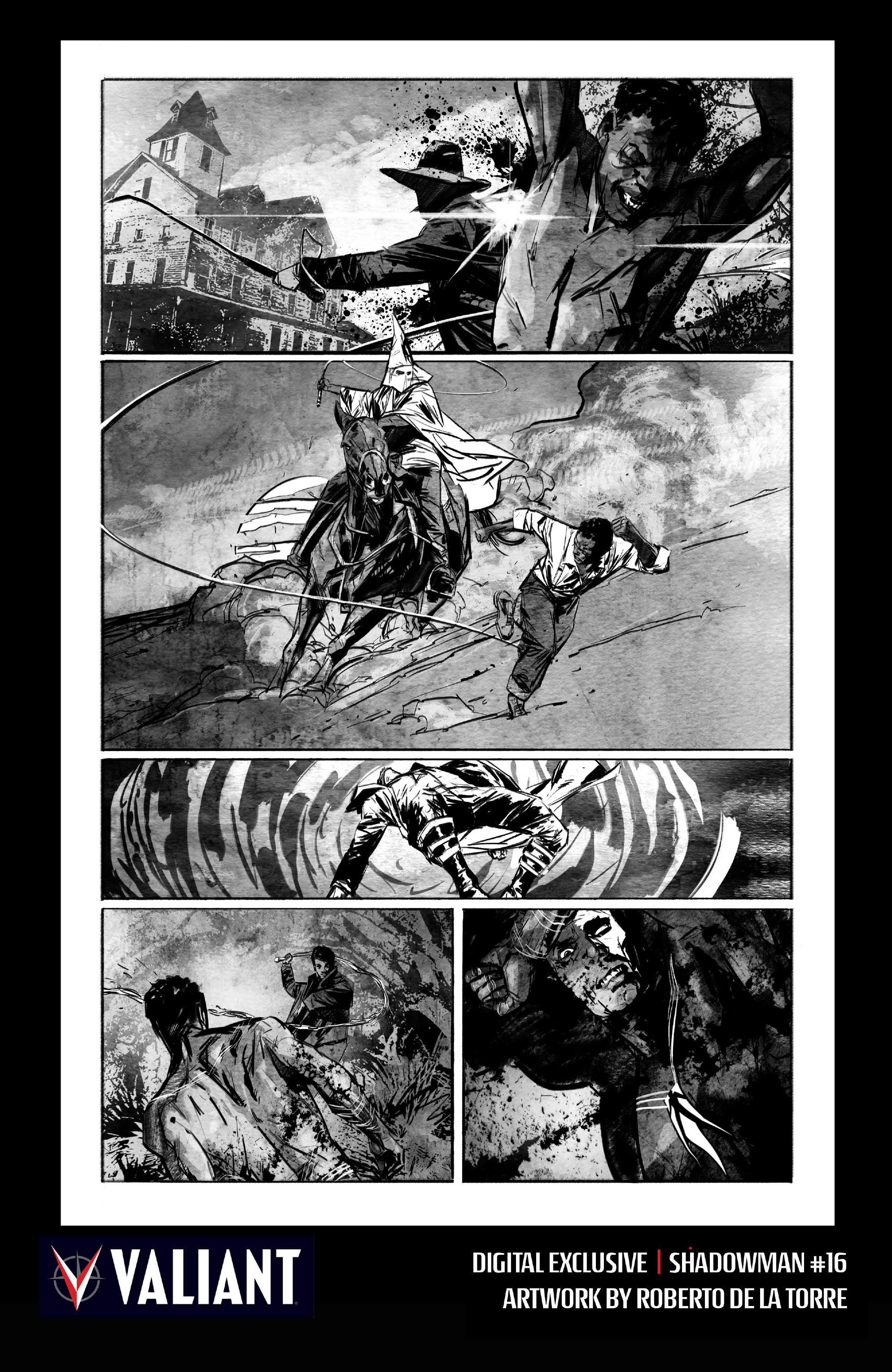 Read online Shadowman (2012) comic -  Issue #16 - 29