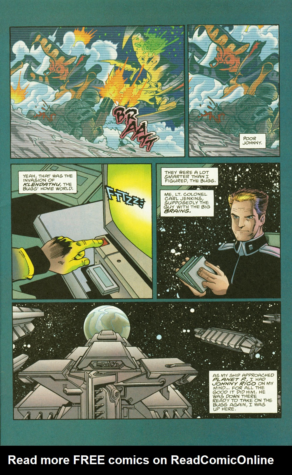 Read online Starship Troopers comic -  Issue #2 - 3
