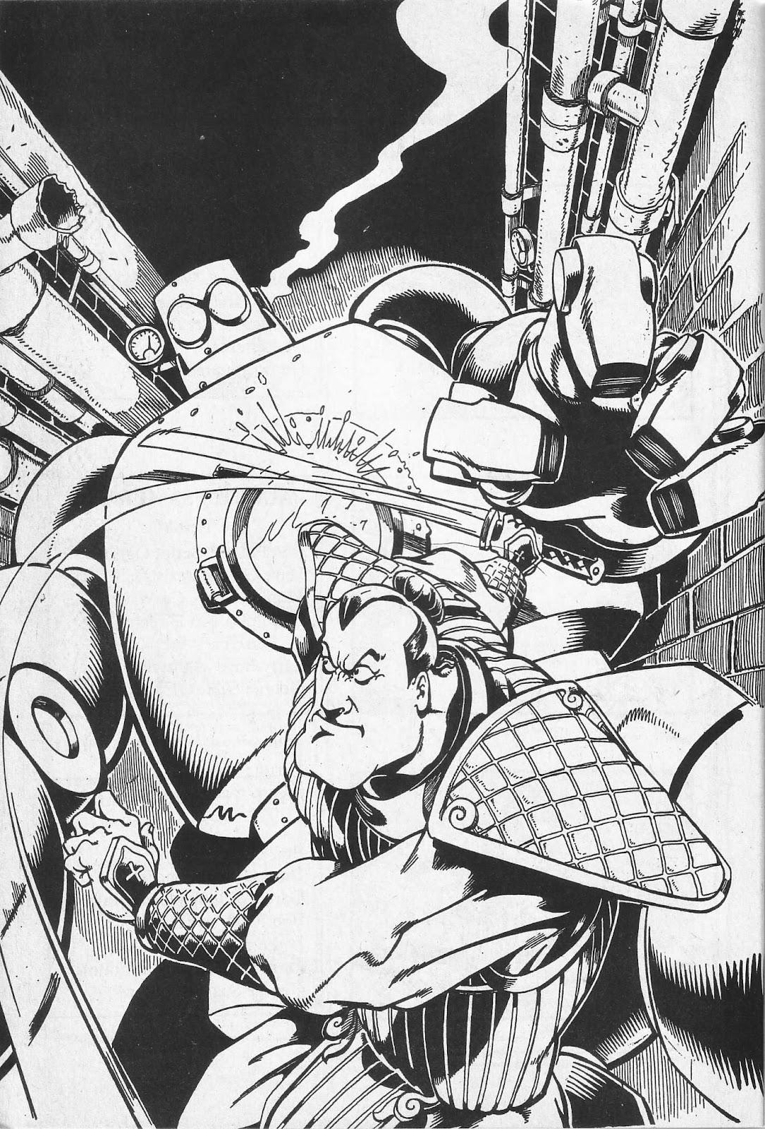 Read online Paul the Samurai (1991) comic -  Issue # TPB - 6
