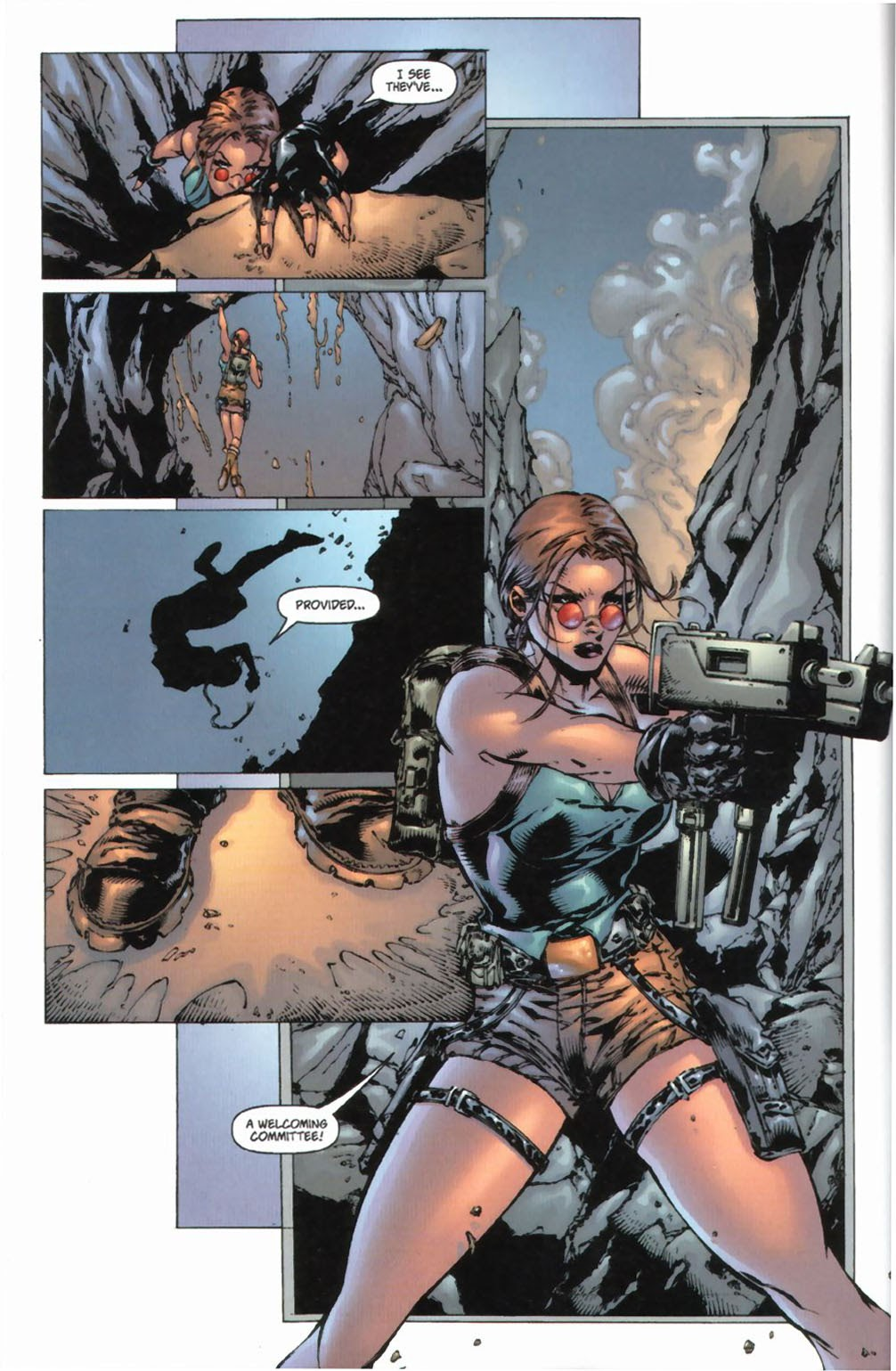 Read online Tomb Raider: The Series comic -  Issue #0 - 9