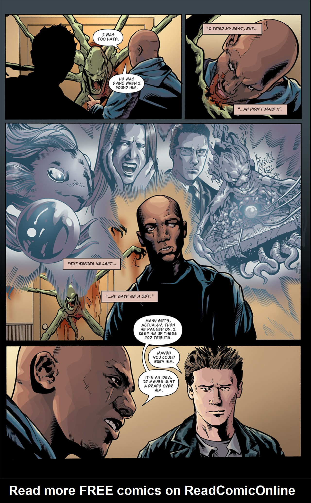 Read online Angel: After The Fall comic -  Issue #11 - 15