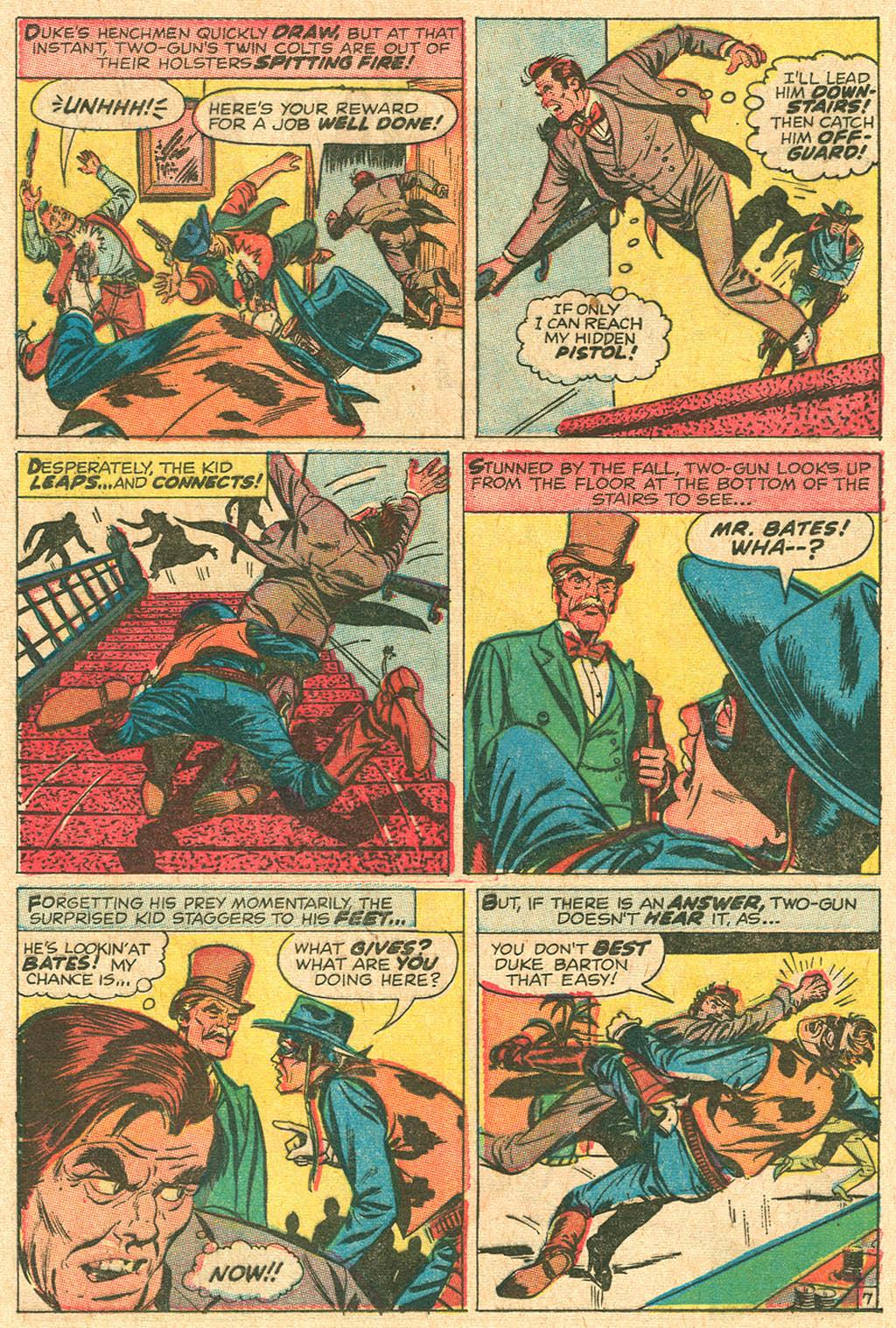 Read online Two-Gun Kid comic -  Issue #92 - 21