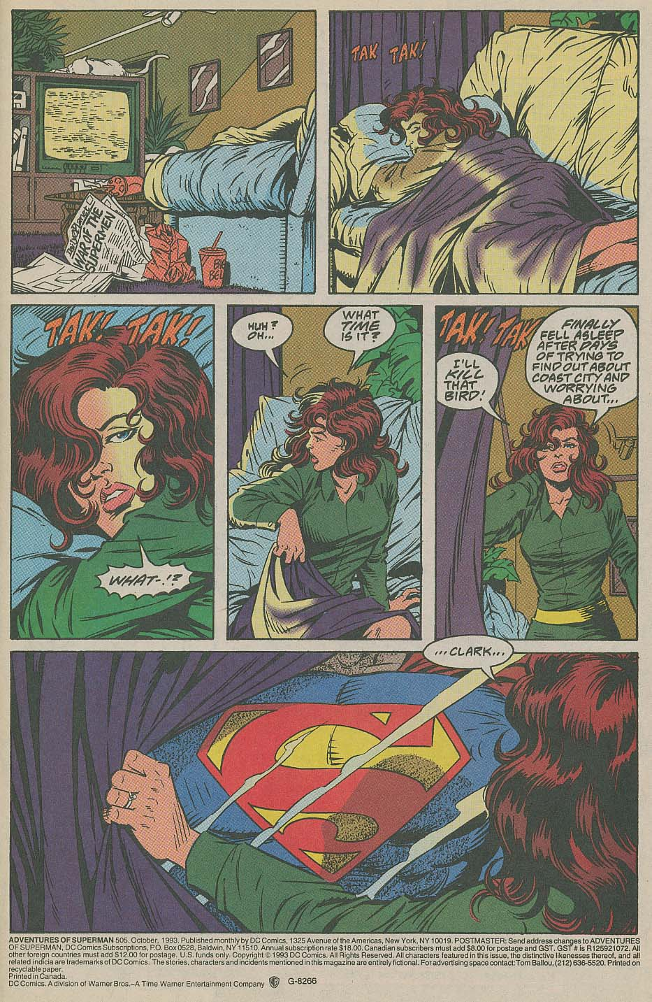 Read online Adventures of Superman (1987) comic -  Issue #505 - 2