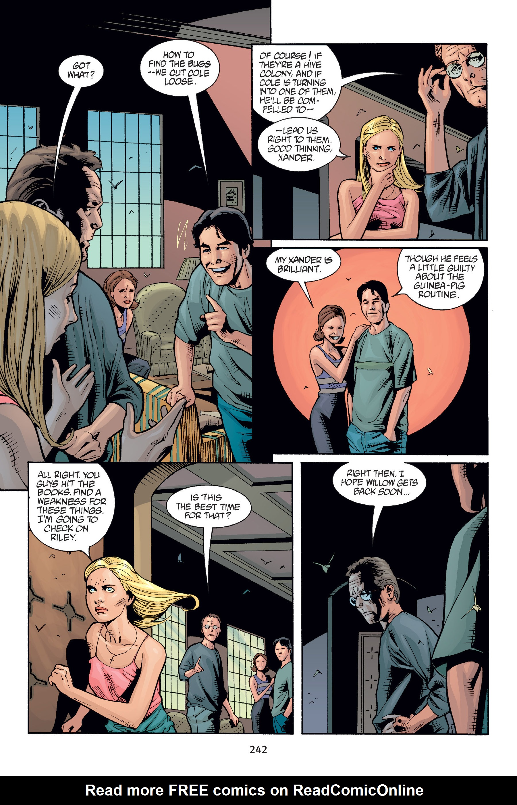 Read online Buffy the Vampire Slayer: Omnibus comic -  Issue # TPB 6 - 241