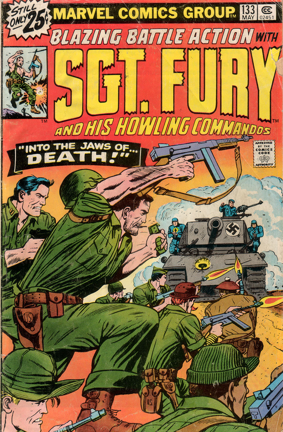 Sgt. Fury 133 Page 1