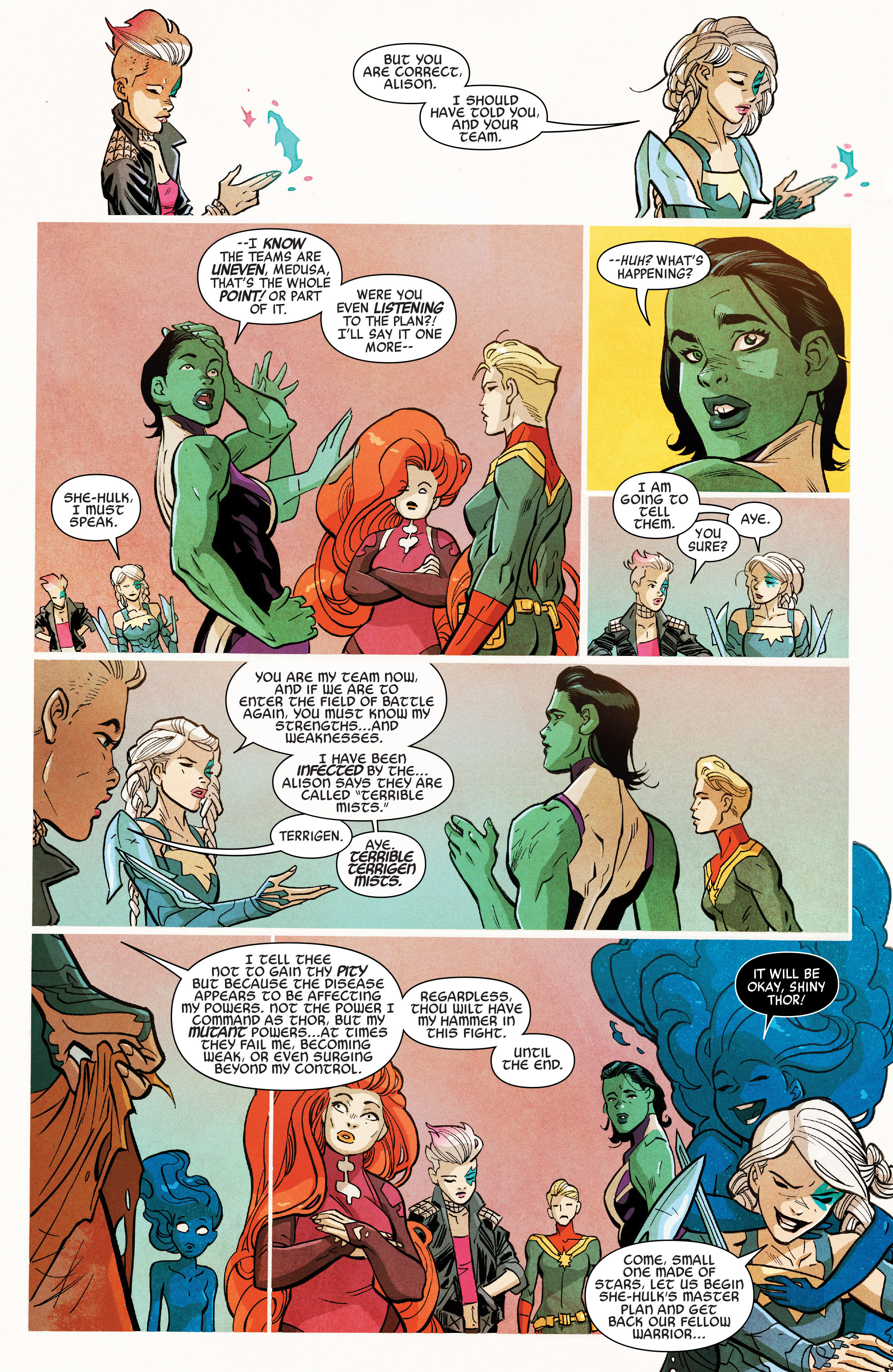 Read online A-Force (2016) comic -  Issue #7 - 7