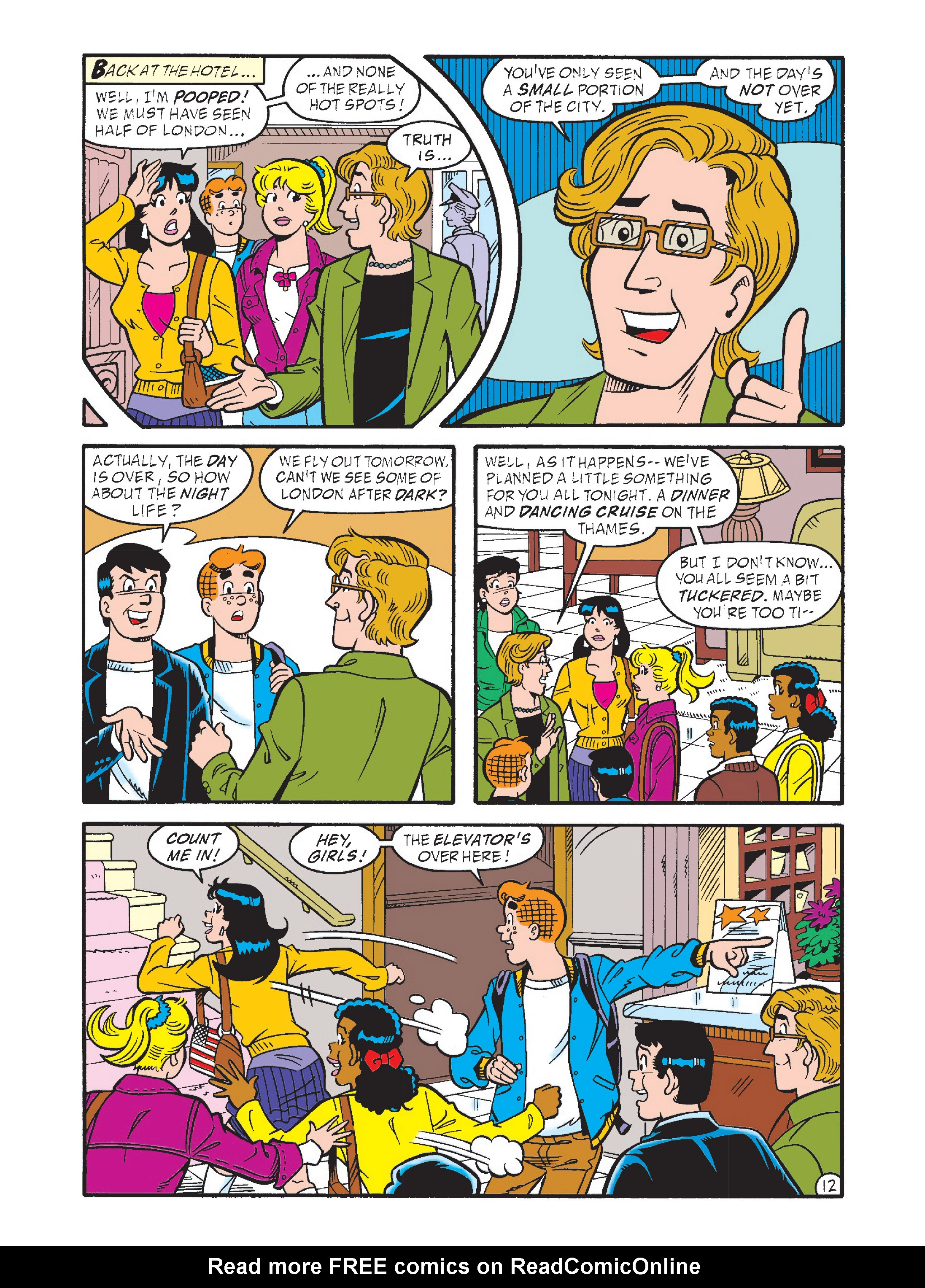 Read online Archie's Funhouse Double Digest comic -  Issue #1 - 47