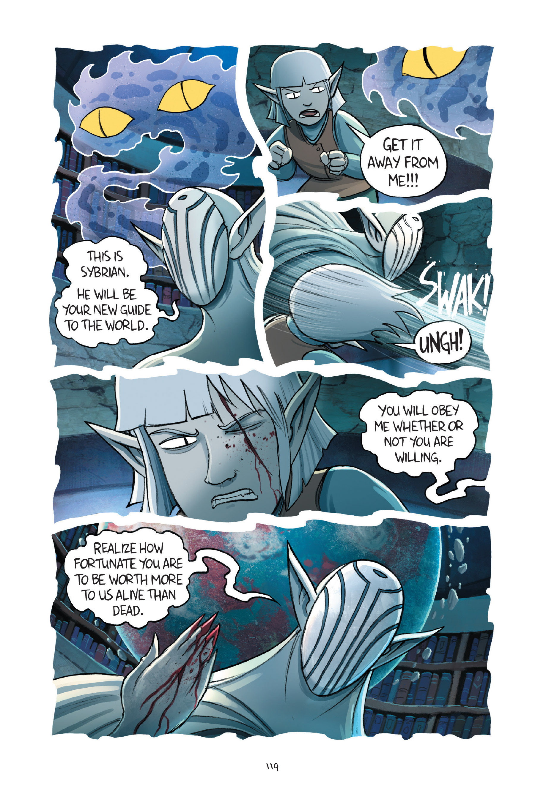 Read online Amulet comic -  Issue #7 - 119