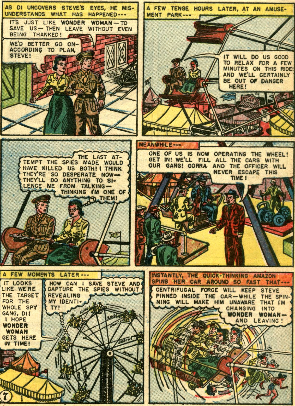 Read online Wonder Woman (1942) comic -  Issue #67 - 9