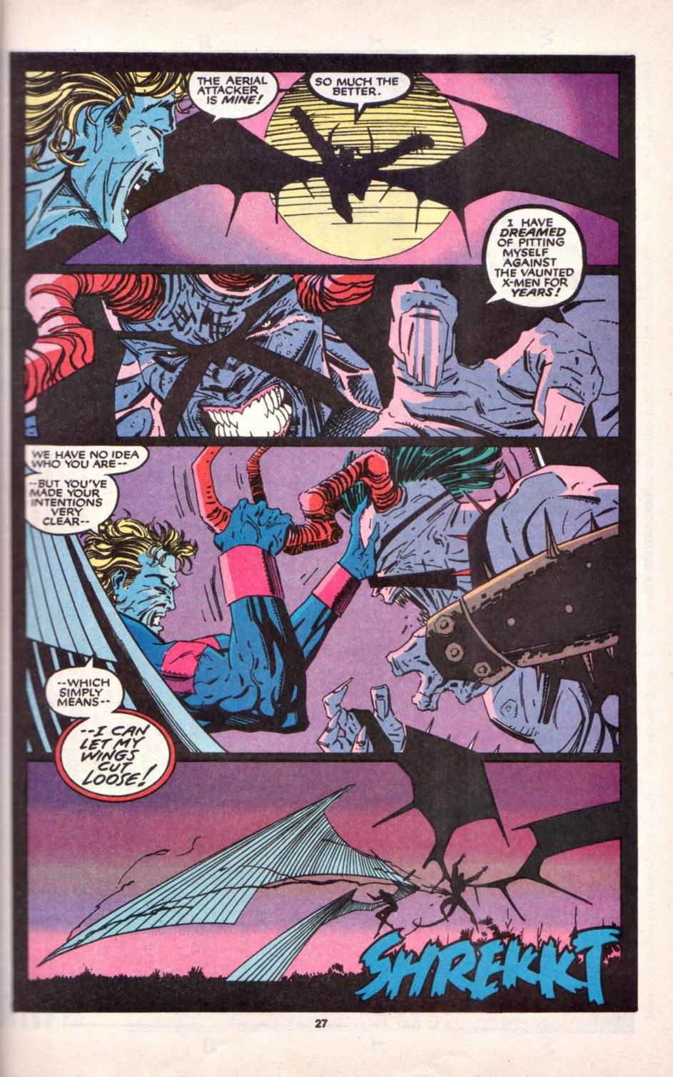 Read online Uncanny X-Men (1963) comic -  Issue # _Annual 16 - 23