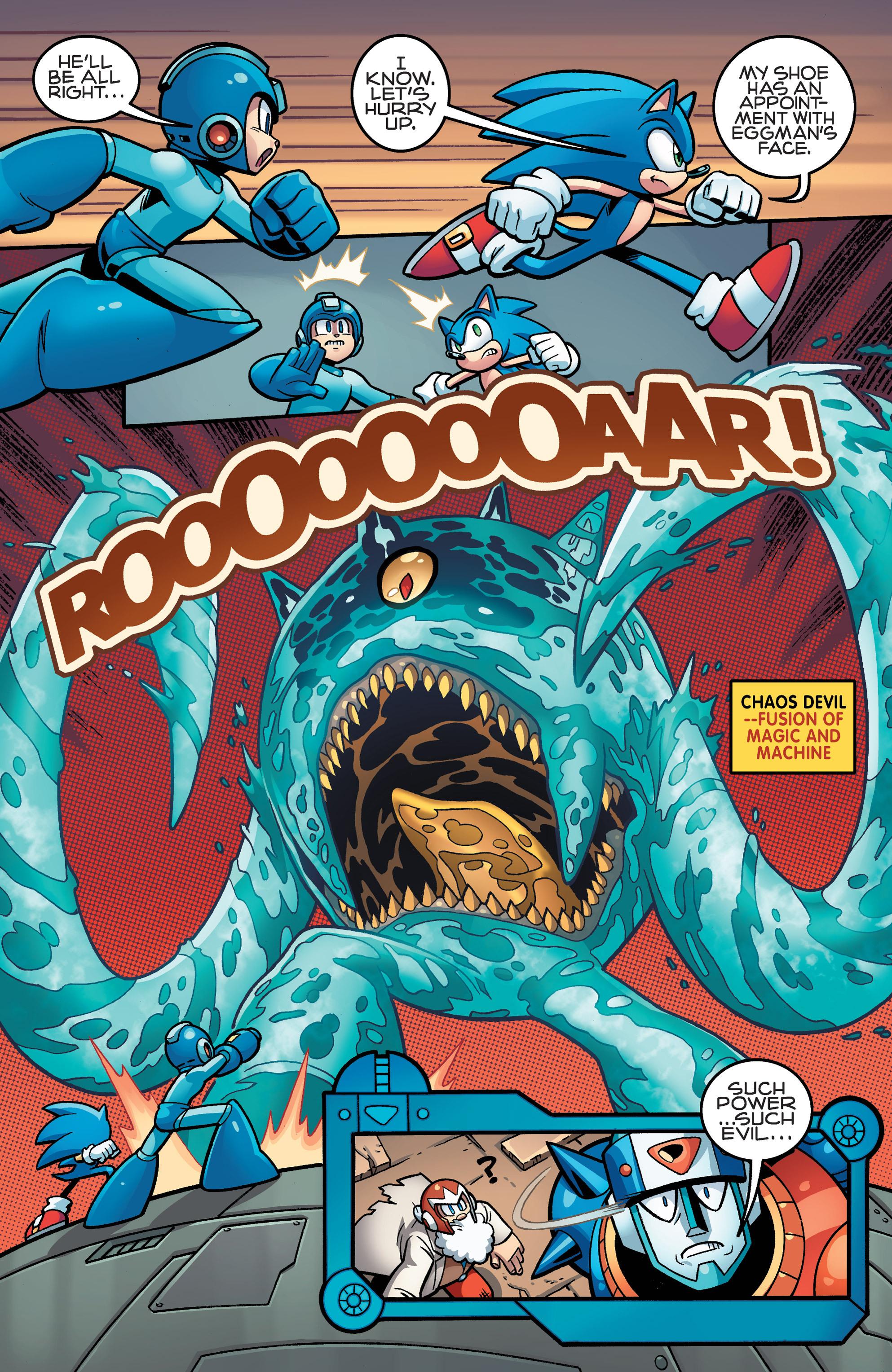 Read online Sonic Mega Man Worlds Collide comic -  Issue # Vol 3 - 62