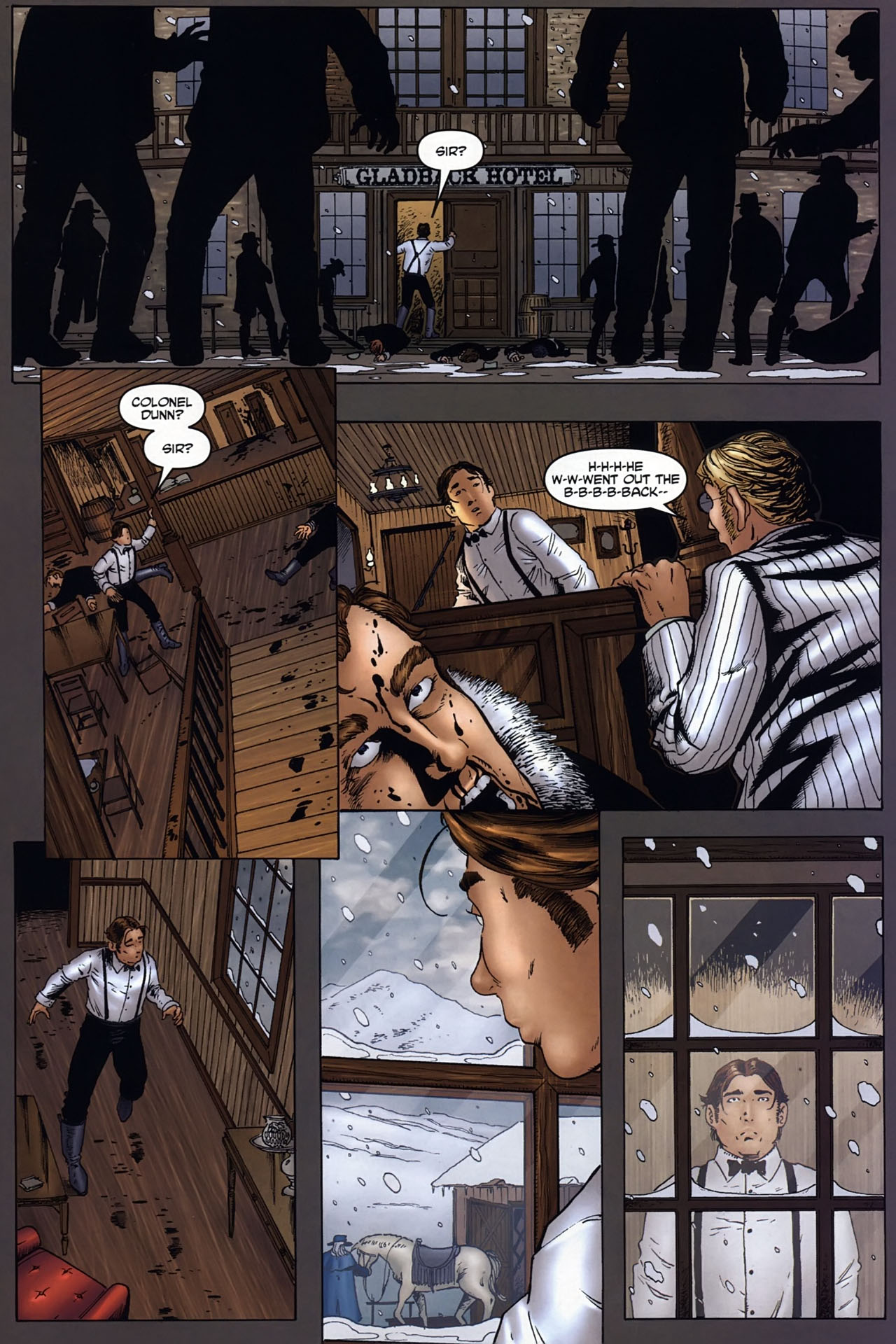Read online Garth Ennis' Streets of Glory comic -  Issue #6 - 27